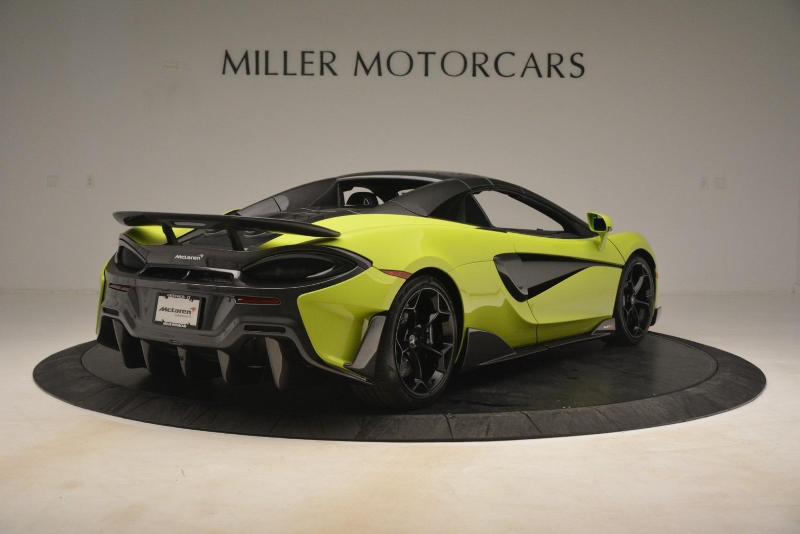 New 2020 McLaren 600LT Spider Convertible For Sale In Westport, CT 3213_p6
