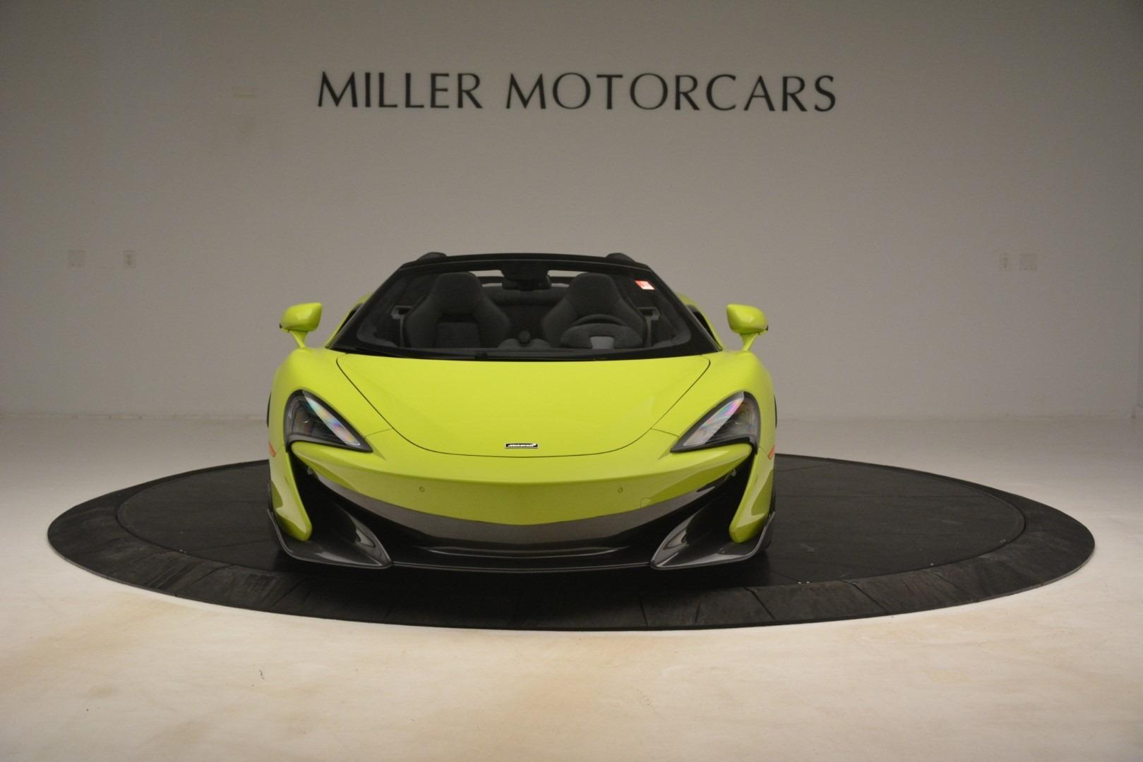 New 2020 McLaren 600LT Spider Convertible For Sale In Westport, CT 3213_p9