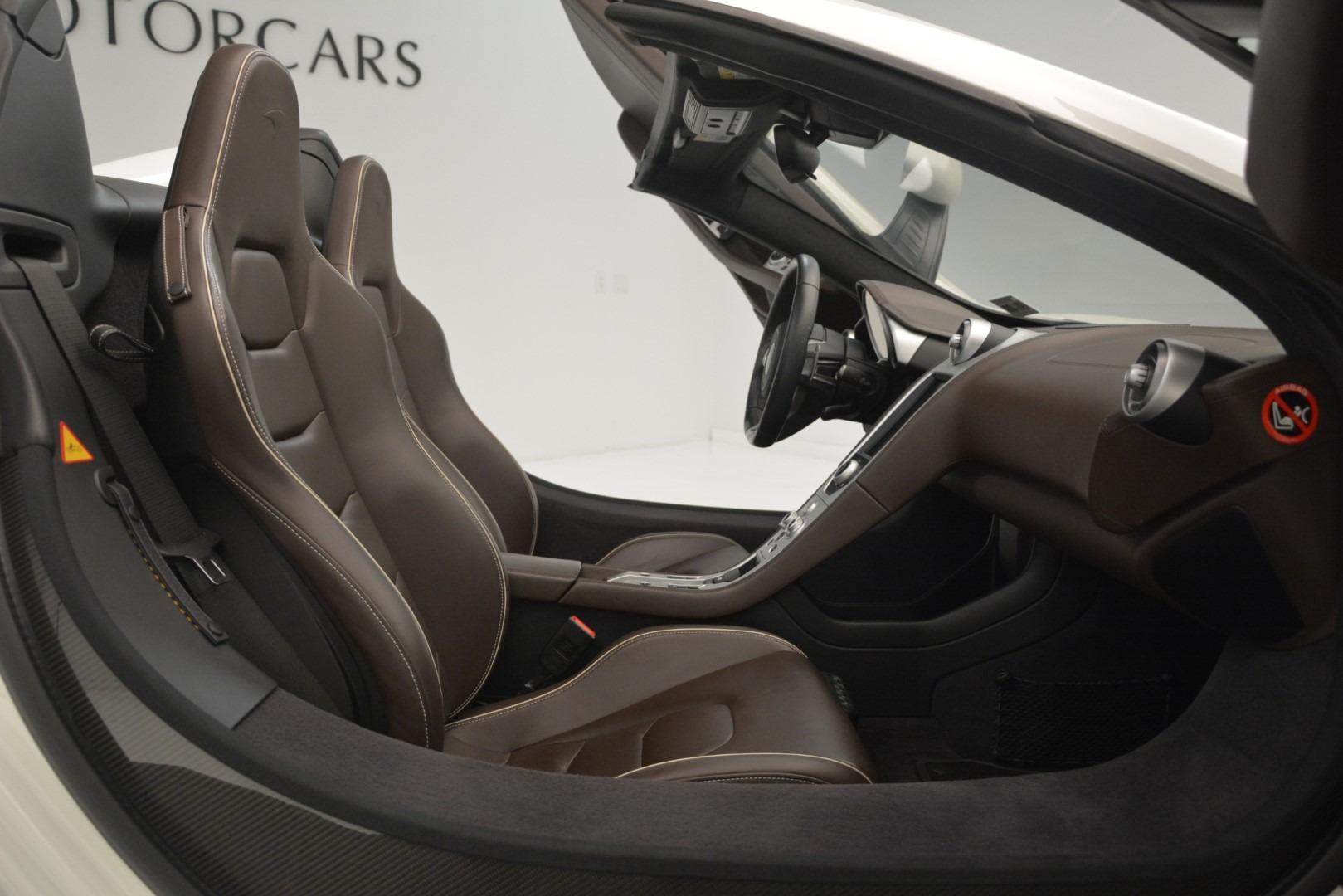 Used 2015 McLaren 650S Spider Convertible For Sale In Westport, CT 3219_p18