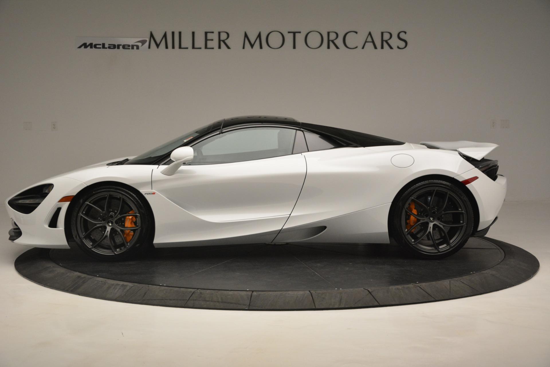 New 2020 McLaren 720S Spider Convertible For Sale In Westport, CT 3229_p3