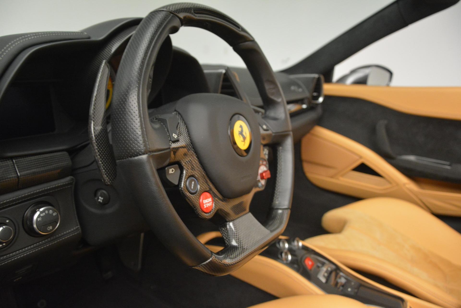 Used 2013 Ferrari 458 Spider  For Sale In Westport, CT 3232_p23