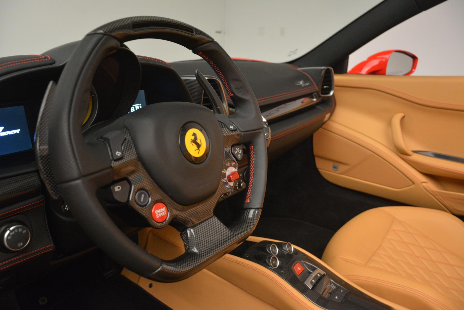 Used 2015 Ferrari 458 Spider  For Sale In Westport, CT 3233_p22