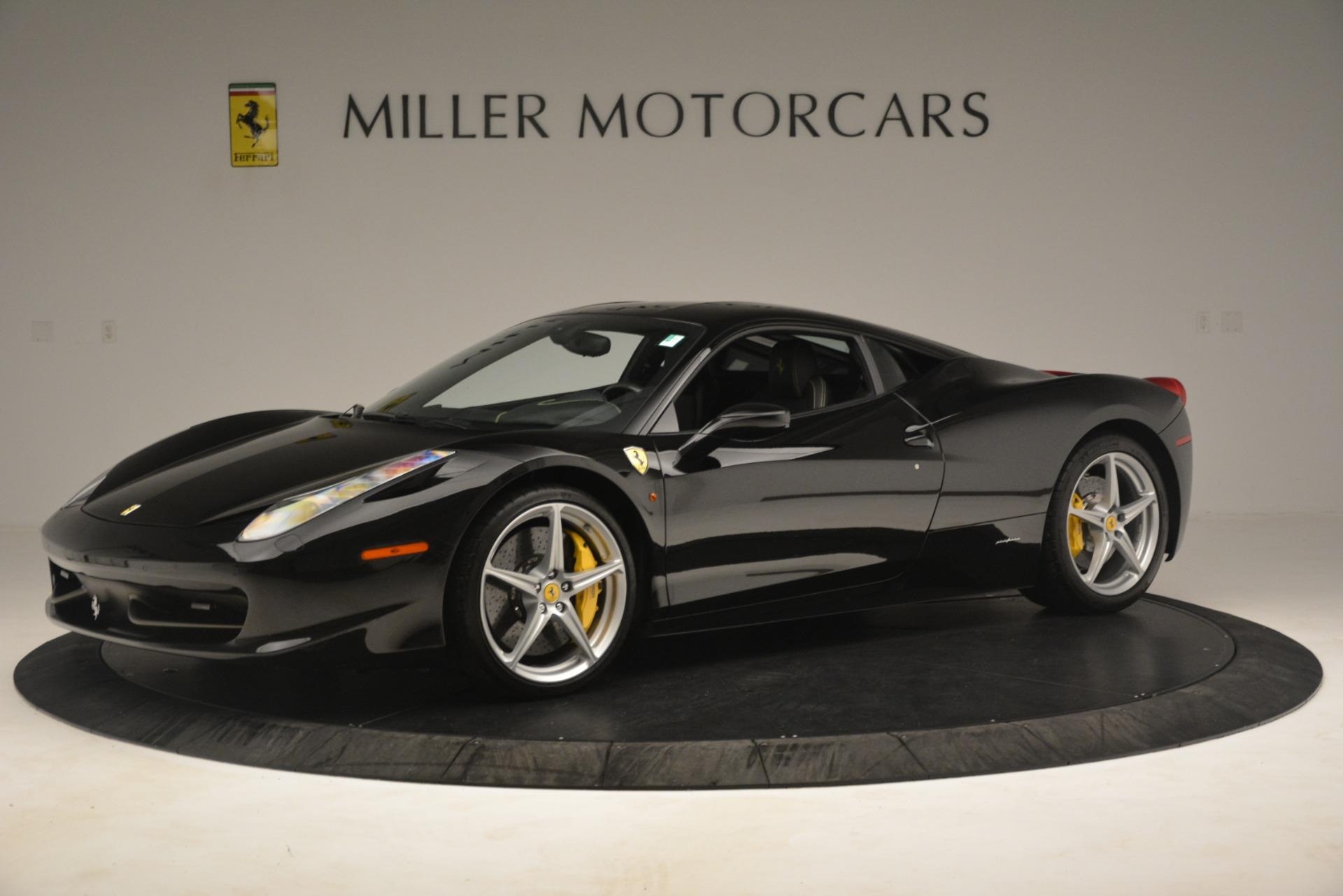Used 2011 Ferrari 458 Italia  For Sale In Westport, CT 3236_p2