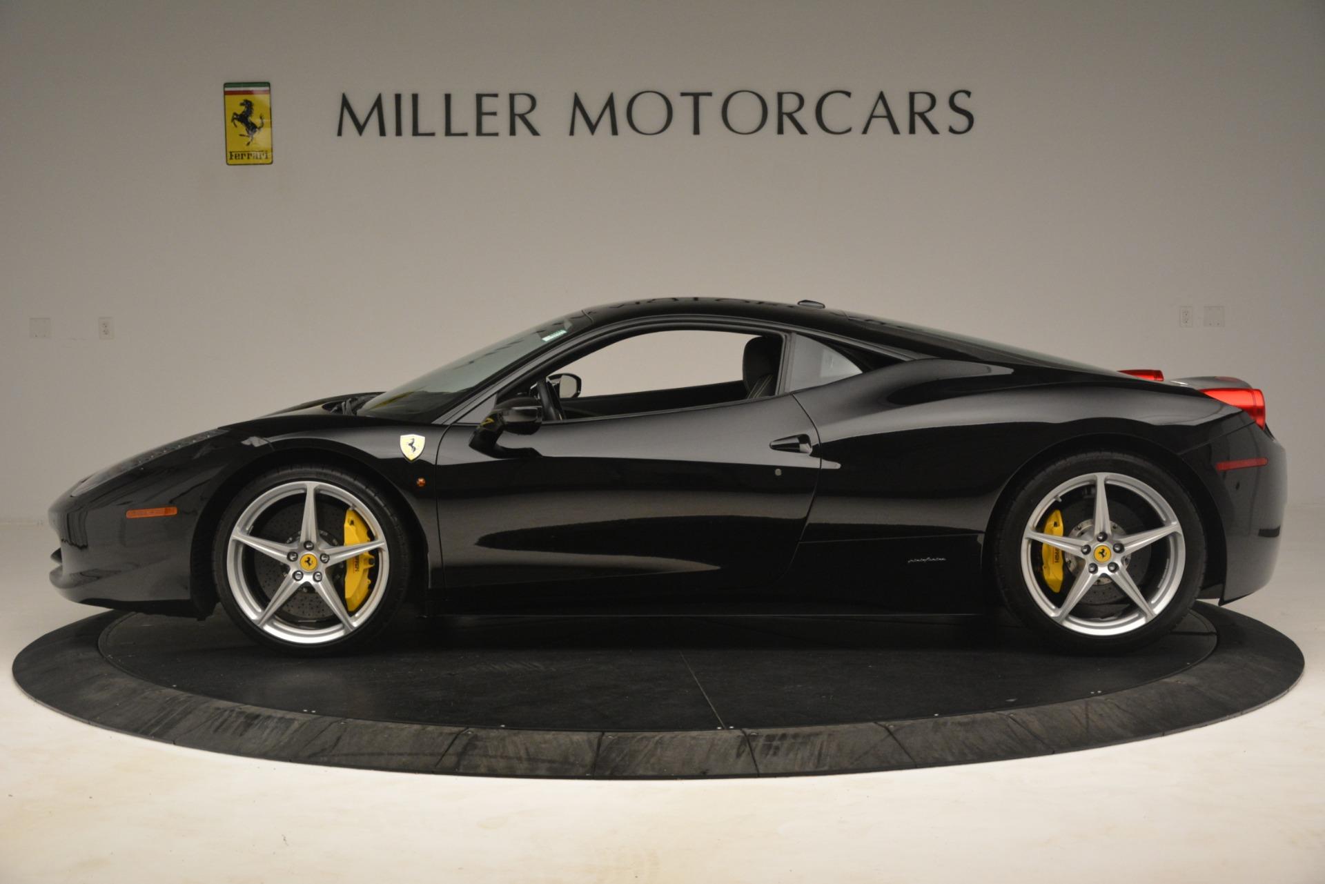 Used 2011 Ferrari 458 Italia  For Sale In Westport, CT 3236_p3