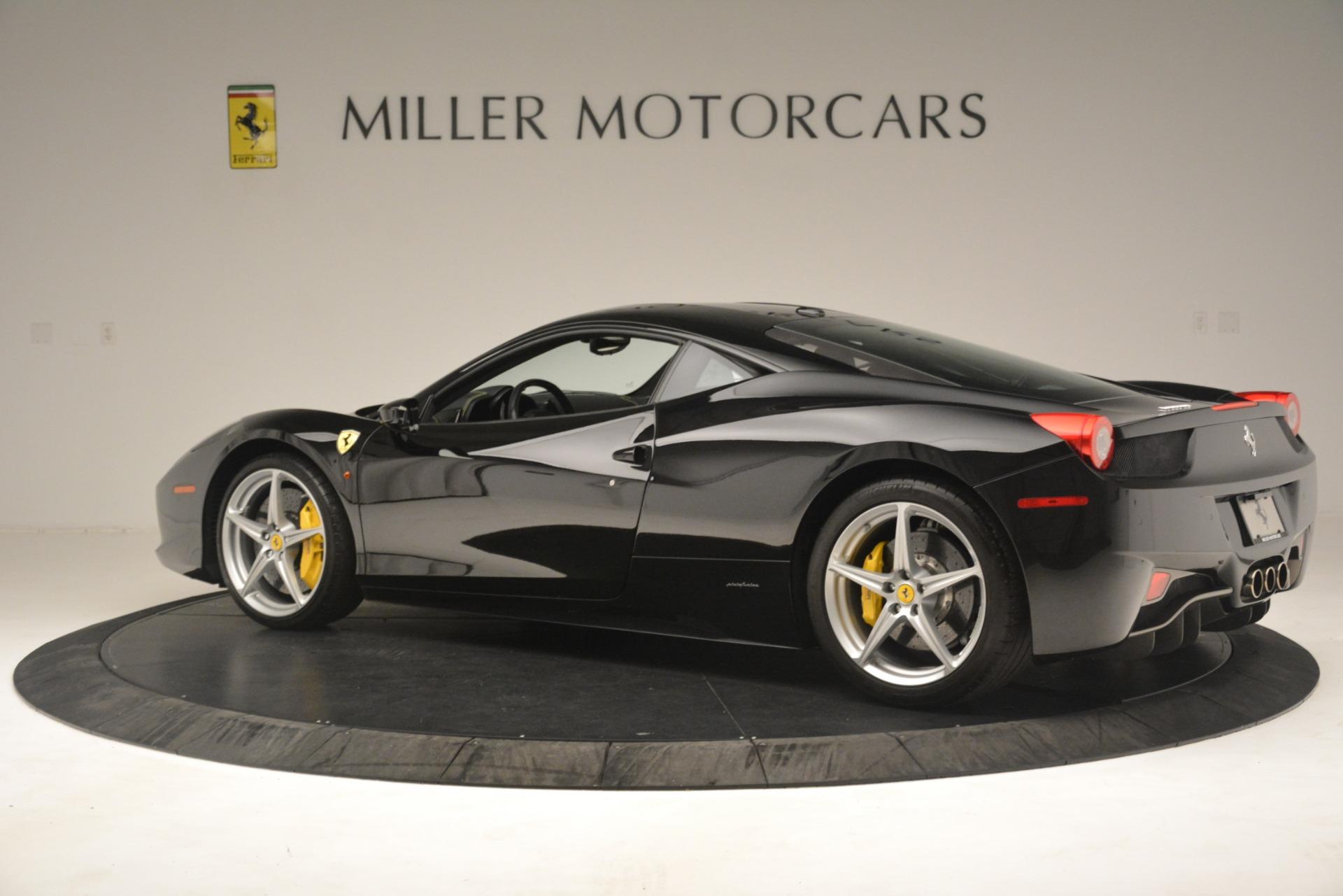 Used 2011 Ferrari 458 Italia  For Sale In Westport, CT 3236_p4