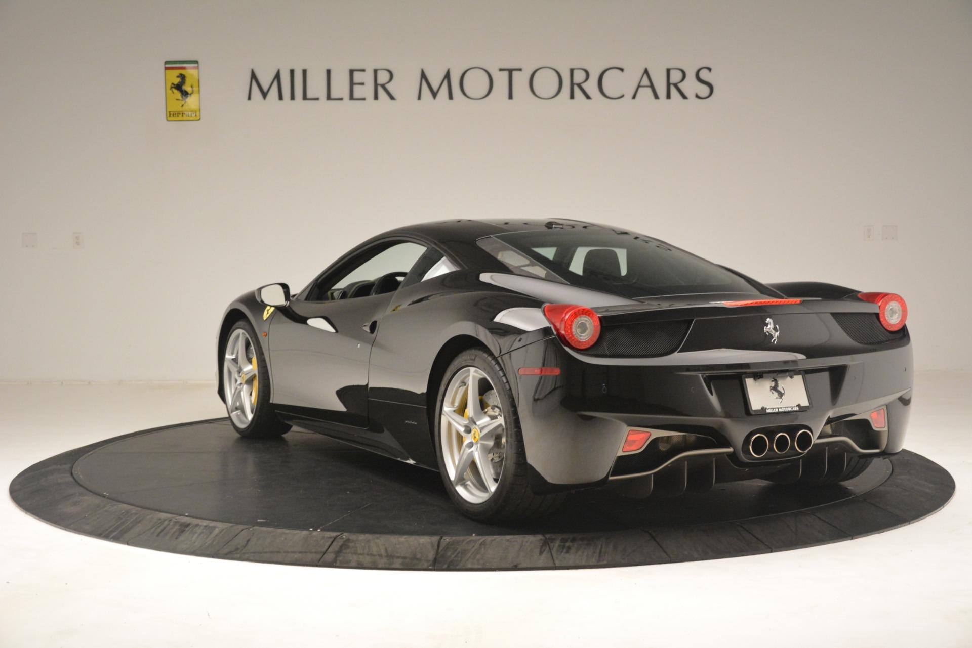 Used 2011 Ferrari 458 Italia  For Sale In Westport, CT 3236_p5