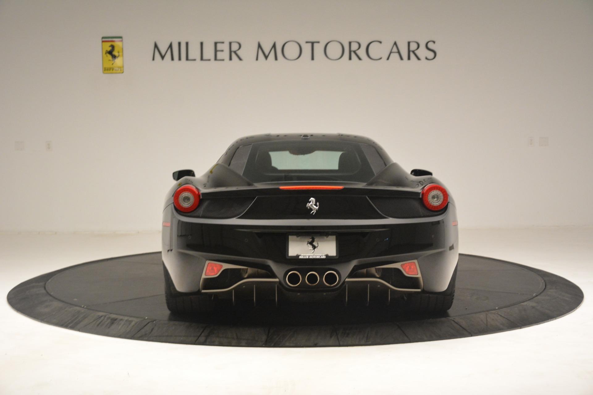 Used 2011 Ferrari 458 Italia  For Sale In Westport, CT 3236_p6