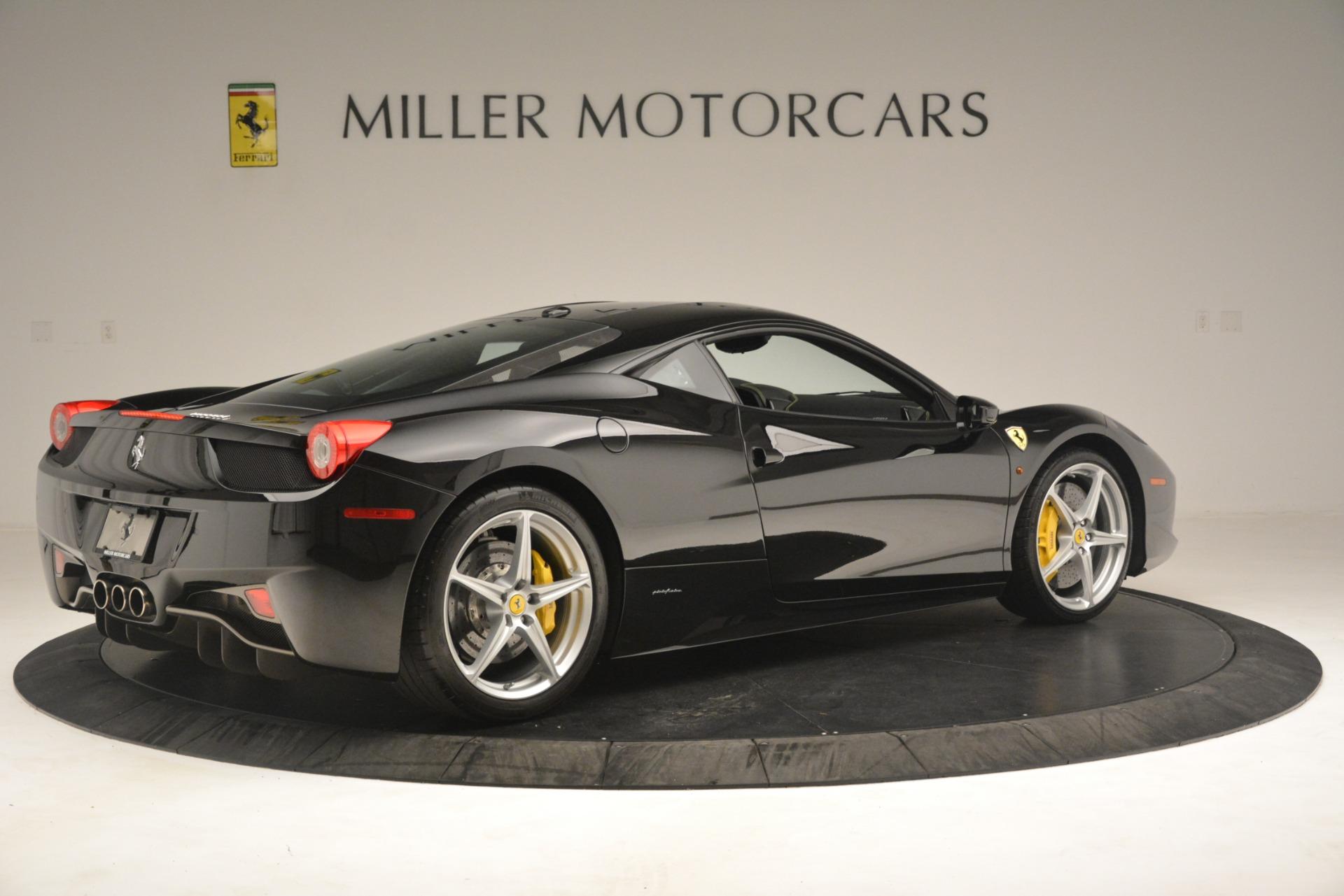 Used 2011 Ferrari 458 Italia  For Sale In Westport, CT 3236_p8