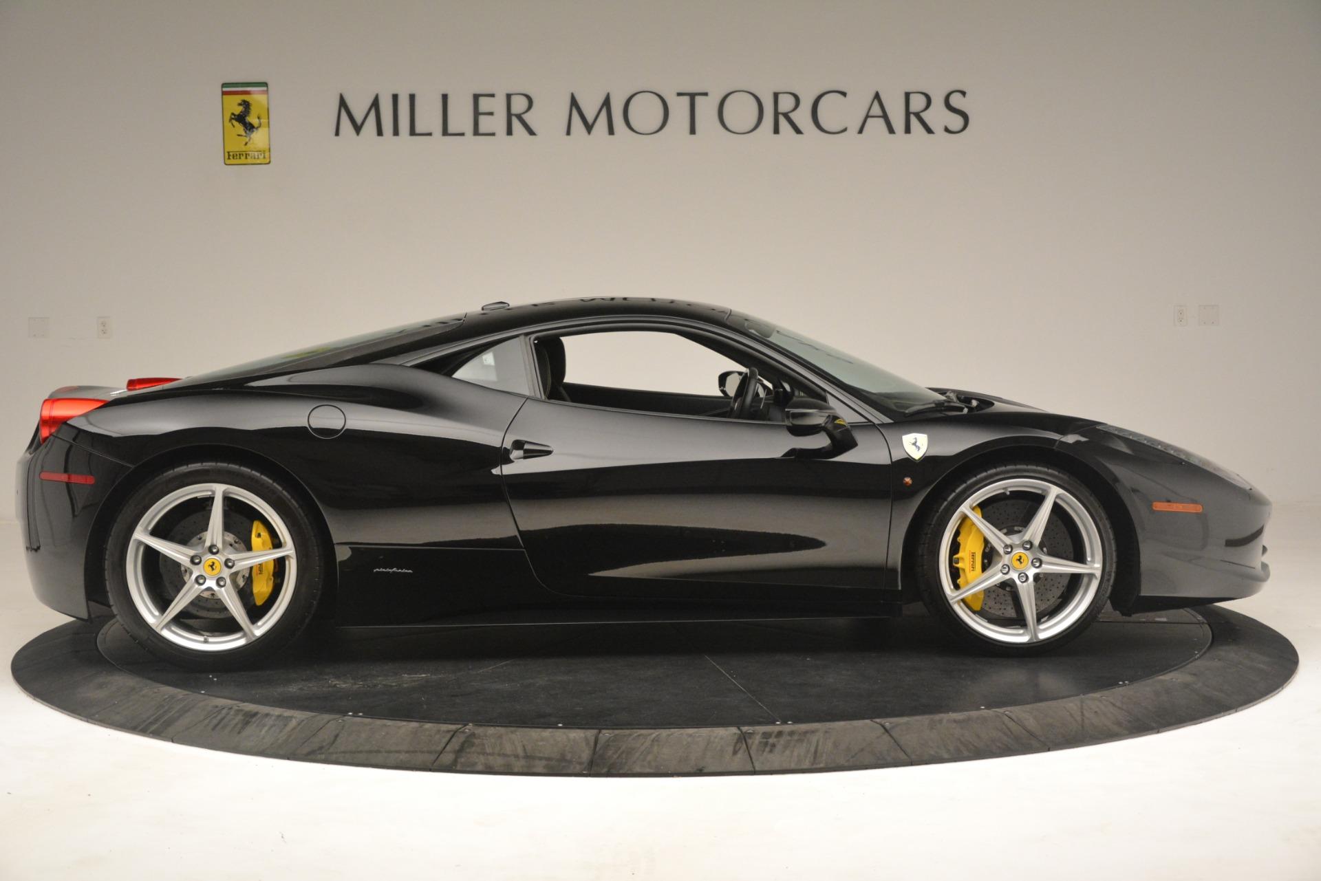 Used 2011 Ferrari 458 Italia  For Sale In Westport, CT 3236_p9