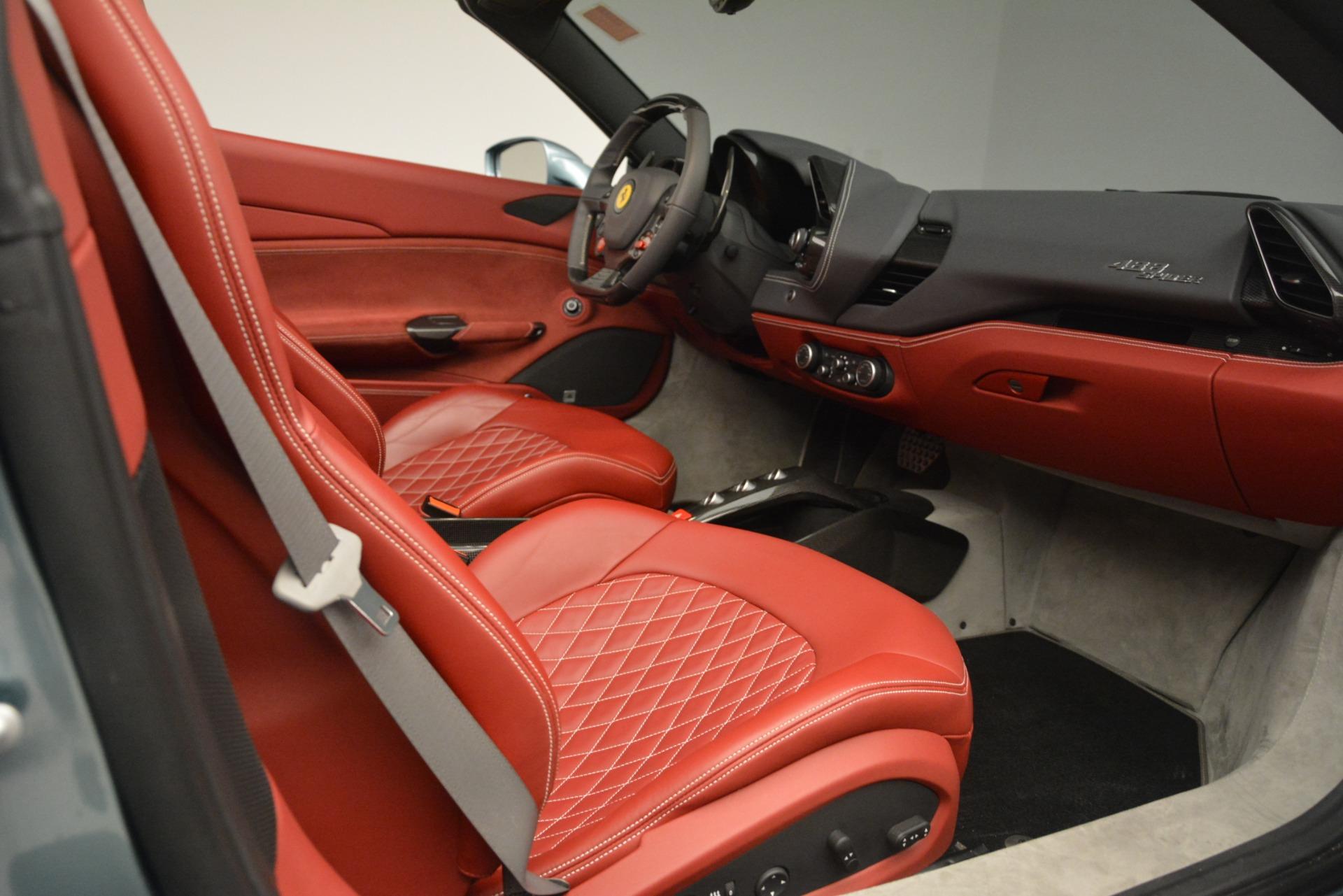 Used 2017 Ferrari 488 Spider  For Sale In Westport, CT 3237_p22