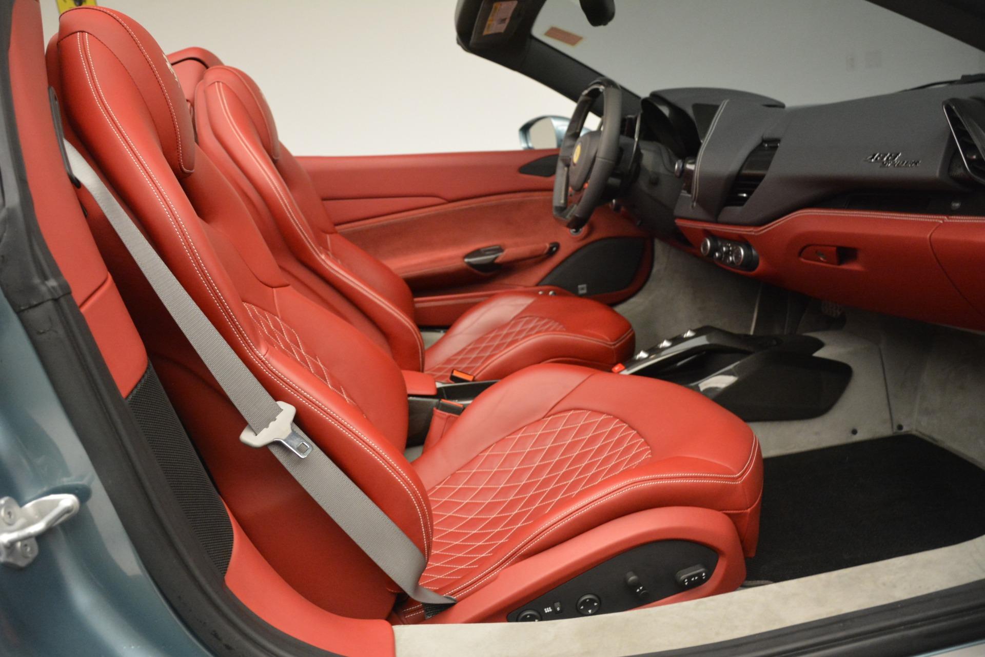 Used 2017 Ferrari 488 Spider  For Sale In Westport, CT 3237_p23