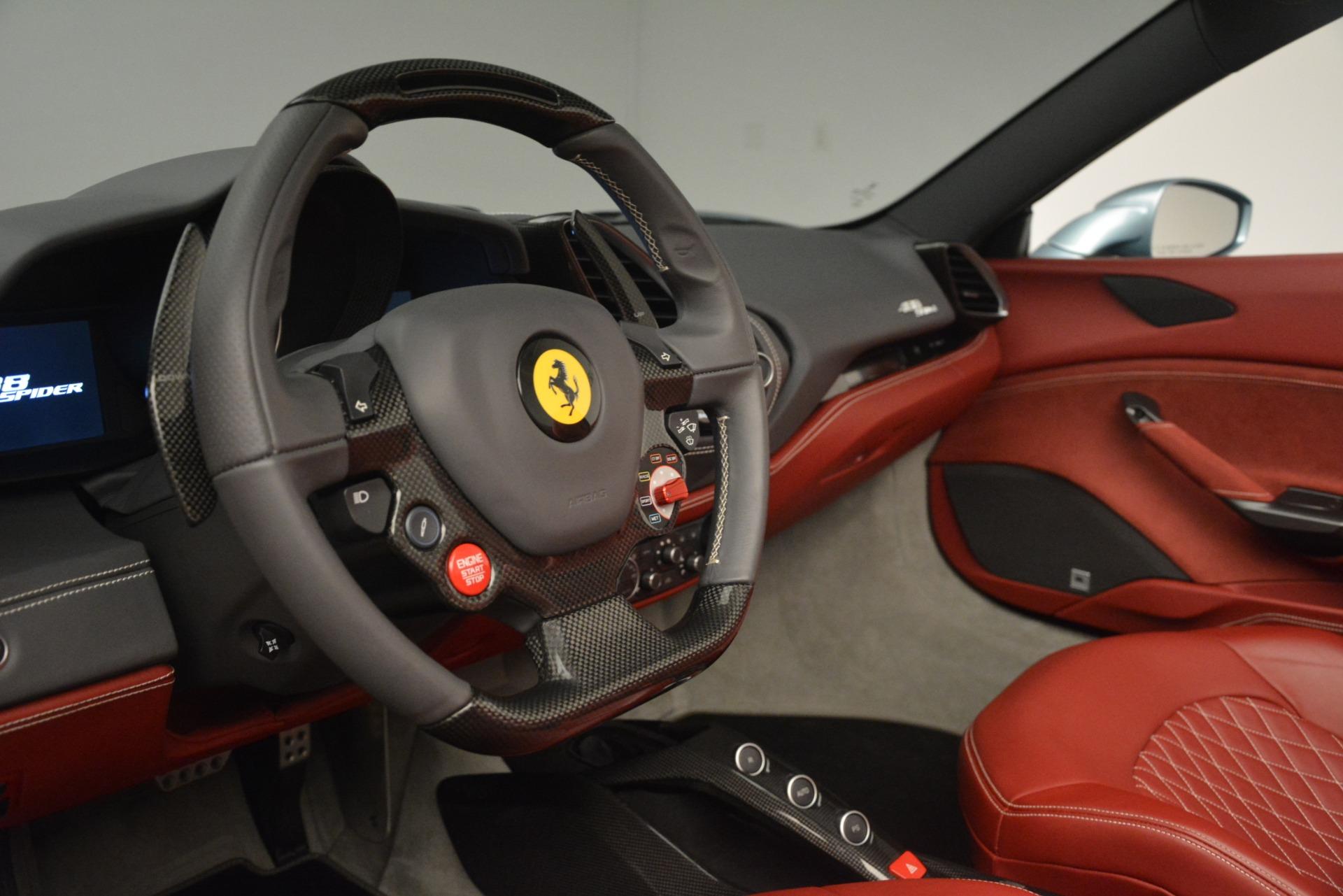 Used 2017 Ferrari 488 Spider  For Sale In Westport, CT 3237_p25