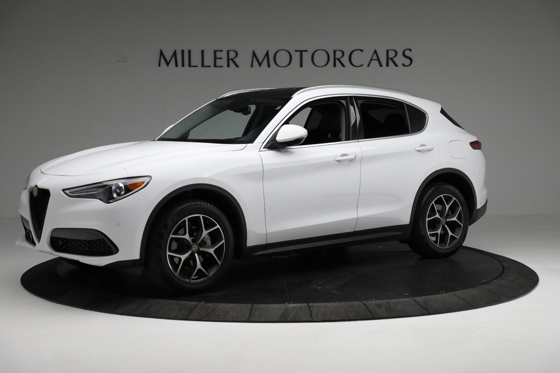 New 2019 Alfa Romeo Stelvio Ti Q4 For Sale In Westport, CT 3247_p2