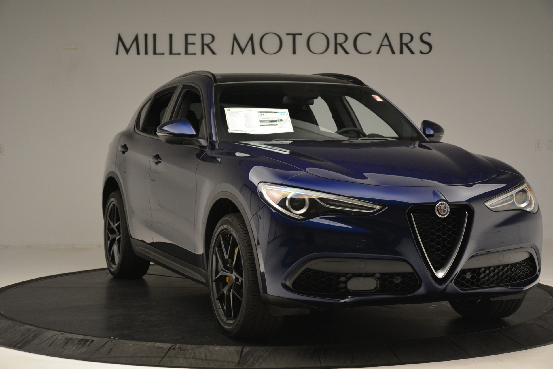 New 2019 Alfa Romeo Stelvio Ti Sport Q4 For Sale In Westport, CT 3249_p11