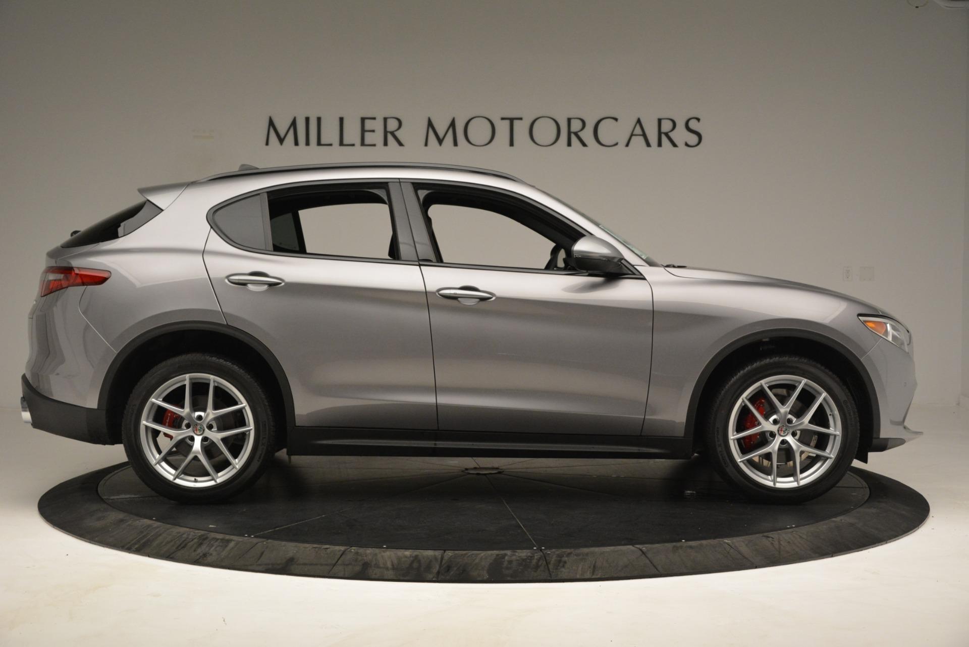 New 2019 Alfa Romeo Stelvio Ti Sport Q4 For Sale In Westport, CT 3250_p9