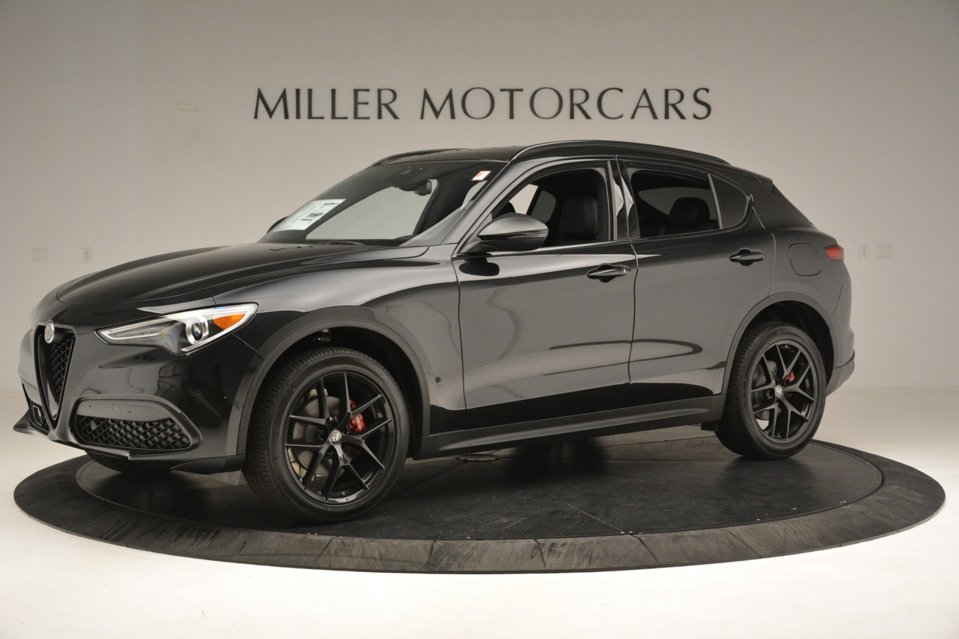 New 2019 Alfa Romeo Stelvio Ti Sport Q4 For Sale In Westport, CT 3251_p2