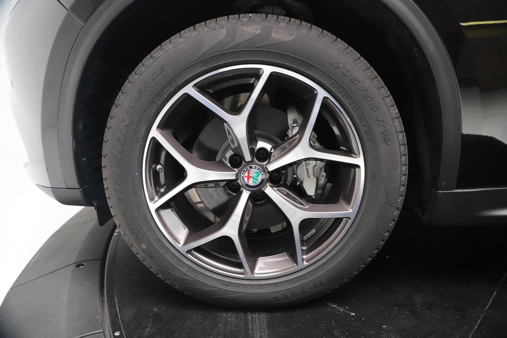 New 2019 Alfa Romeo Stelvio Ti Q4 For Sale In Westport, CT 3252_p30
