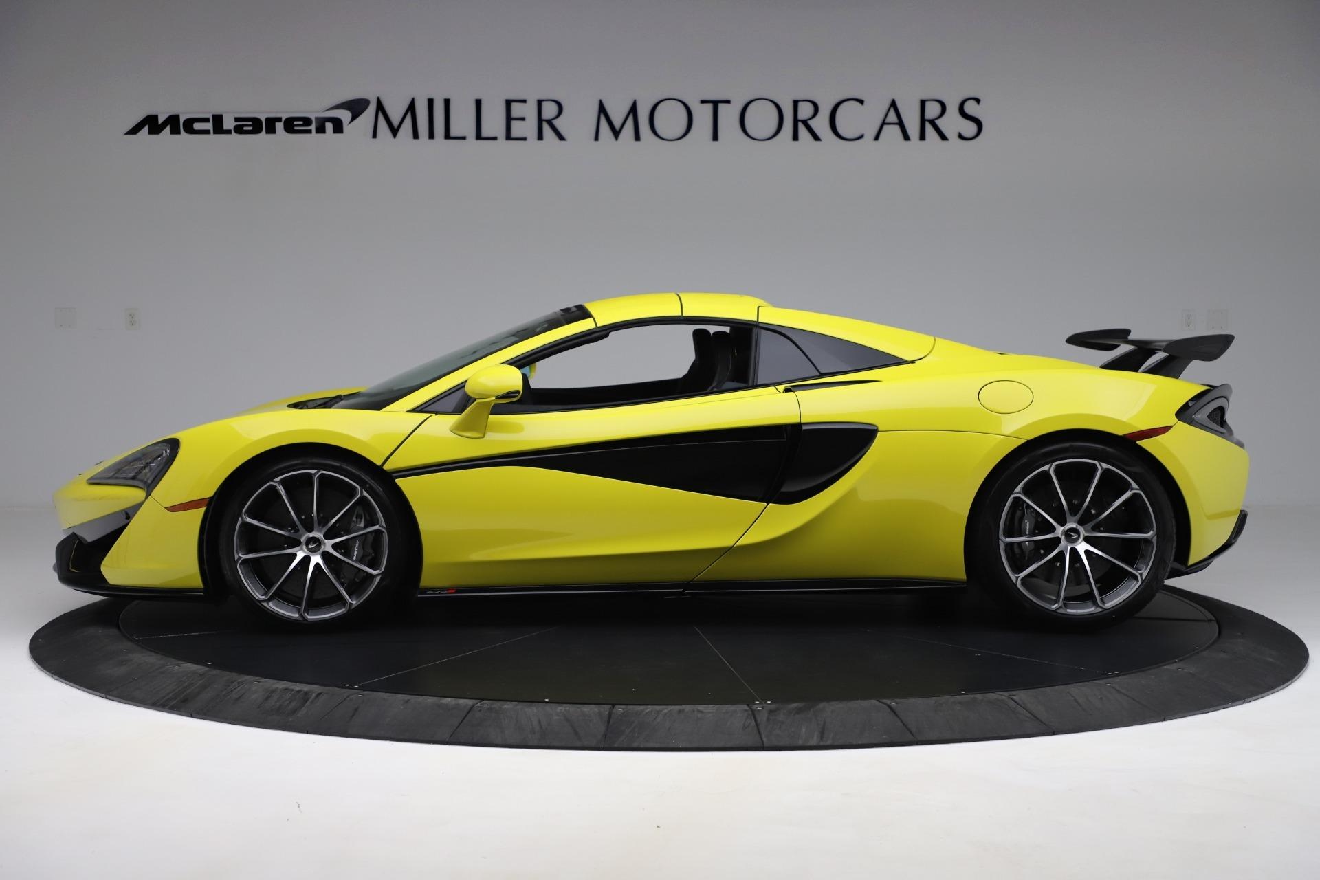 New 2019 McLaren 570S Spider Convertible For Sale In Westport, CT 3253_p10