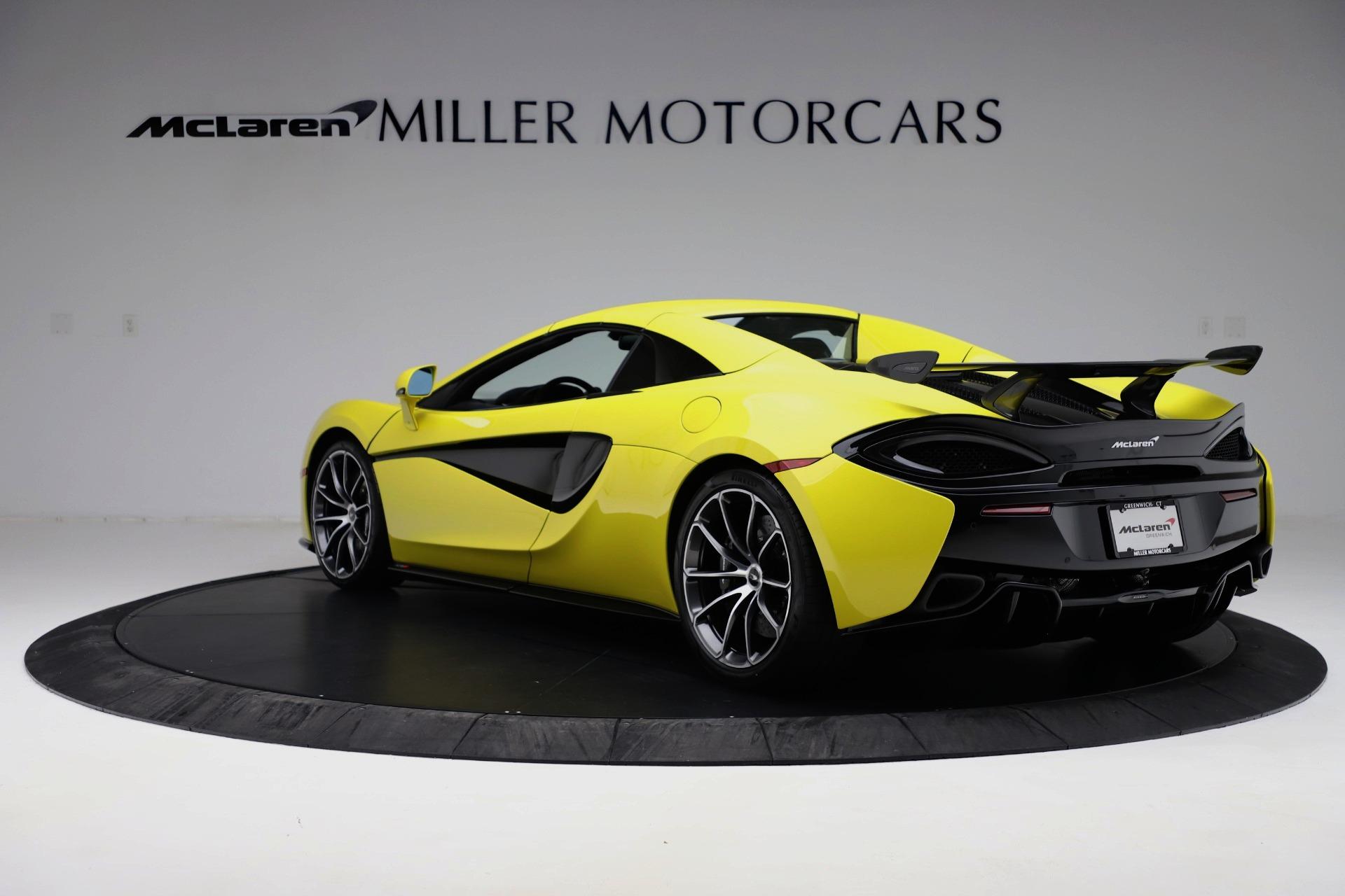 New 2019 McLaren 570S Spider Convertible For Sale In Westport, CT 3253_p11