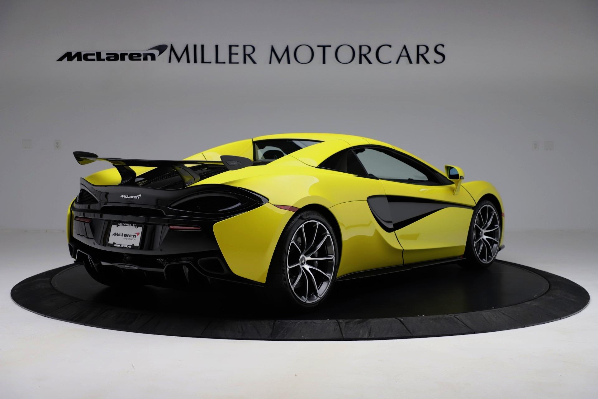 New 2019 McLaren 570S Spider Convertible For Sale In Westport, CT 3253_p13