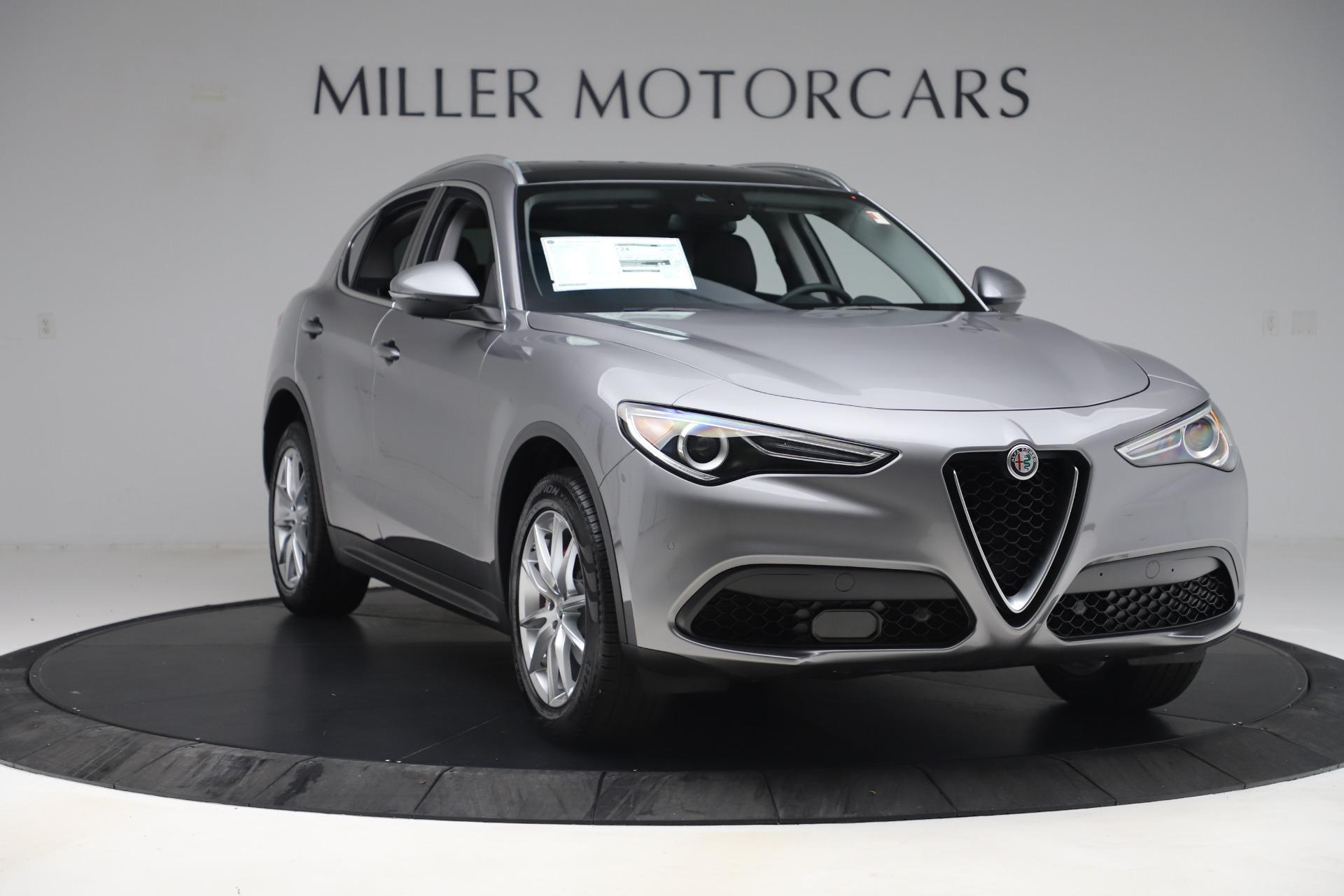 New 2019 Alfa Romeo Stelvio Ti Lusso Q4 For Sale In Westport, CT 3260_p11
