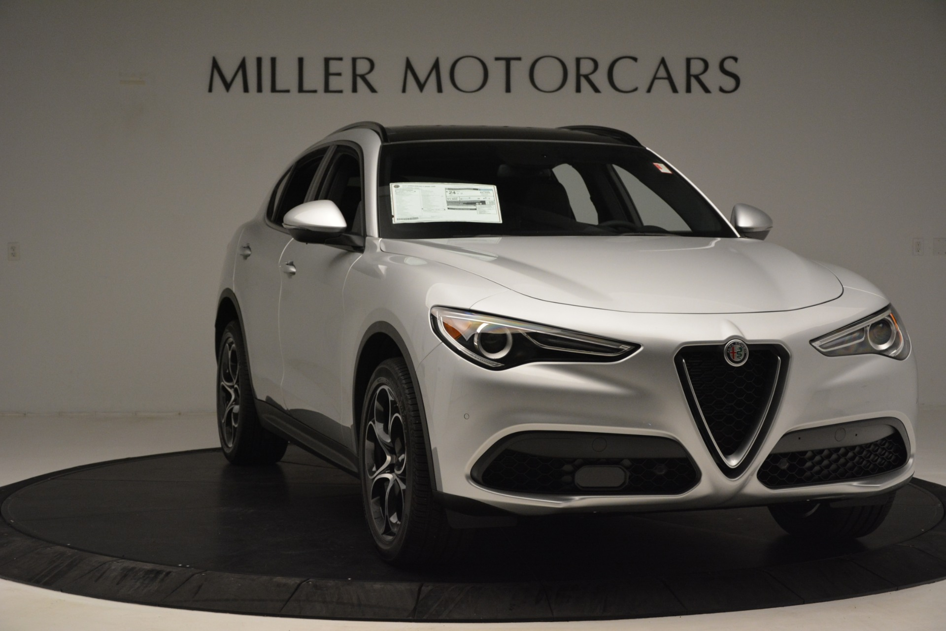 New 2019 Alfa Romeo Stelvio Ti Sport Q4 For Sale In Westport, CT 3261_p11