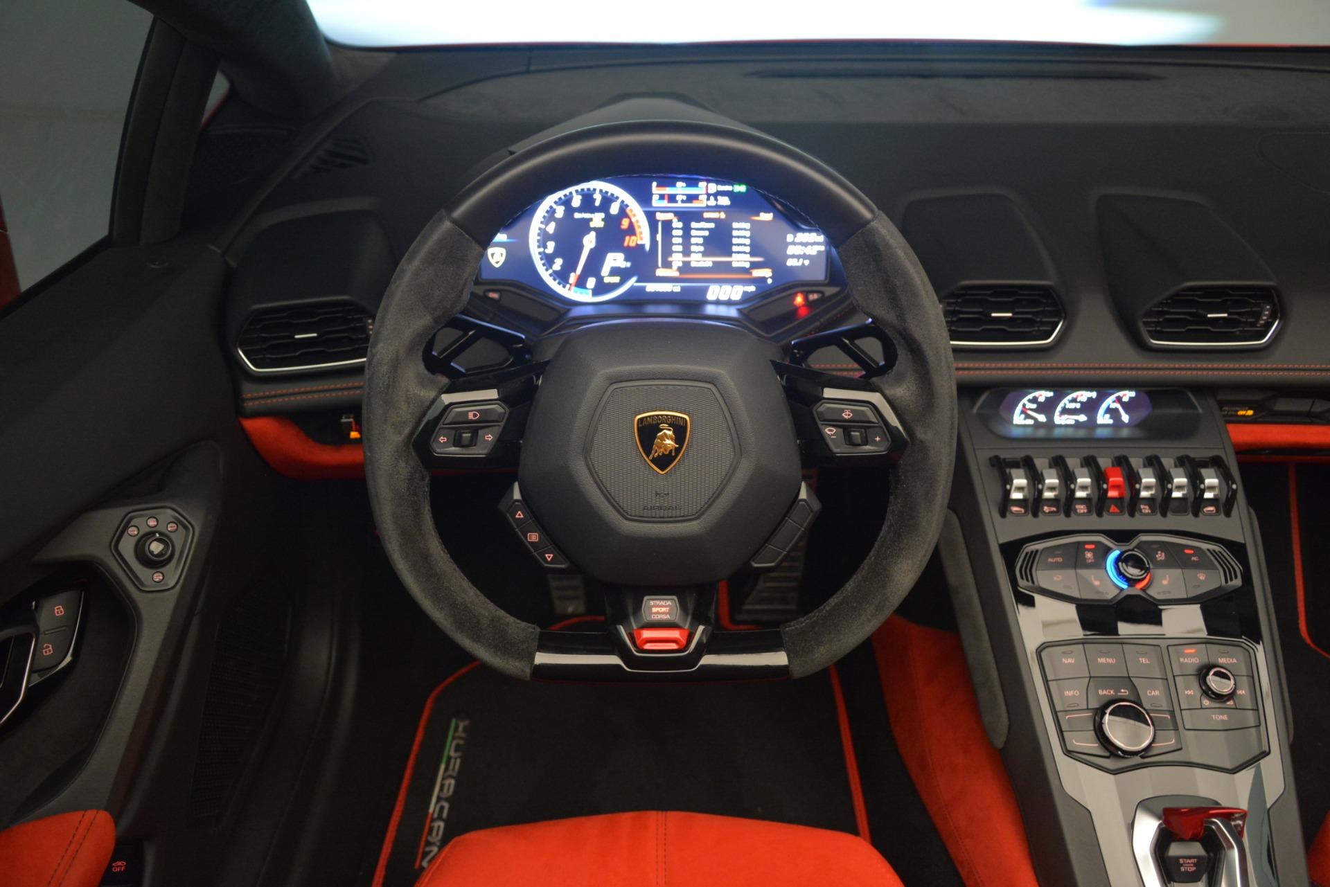 Used 2017 Lamborghini Huracan LP 610-4 Spyder For Sale In Westport, CT 3270_p20