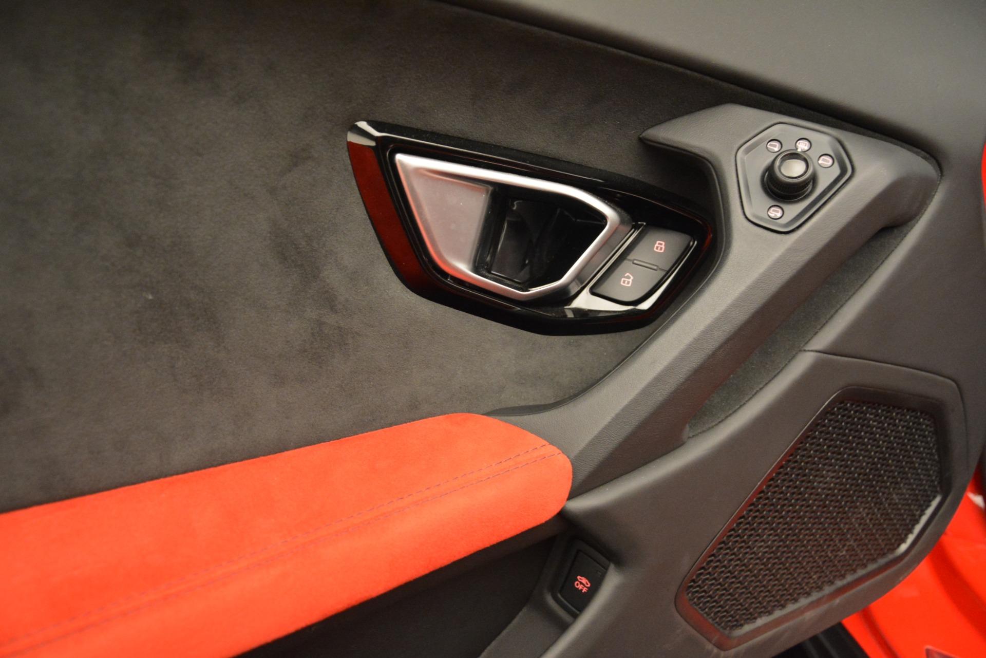 Used 2017 Lamborghini Huracan LP 610-4 Spyder For Sale In Westport, CT 3270_p21