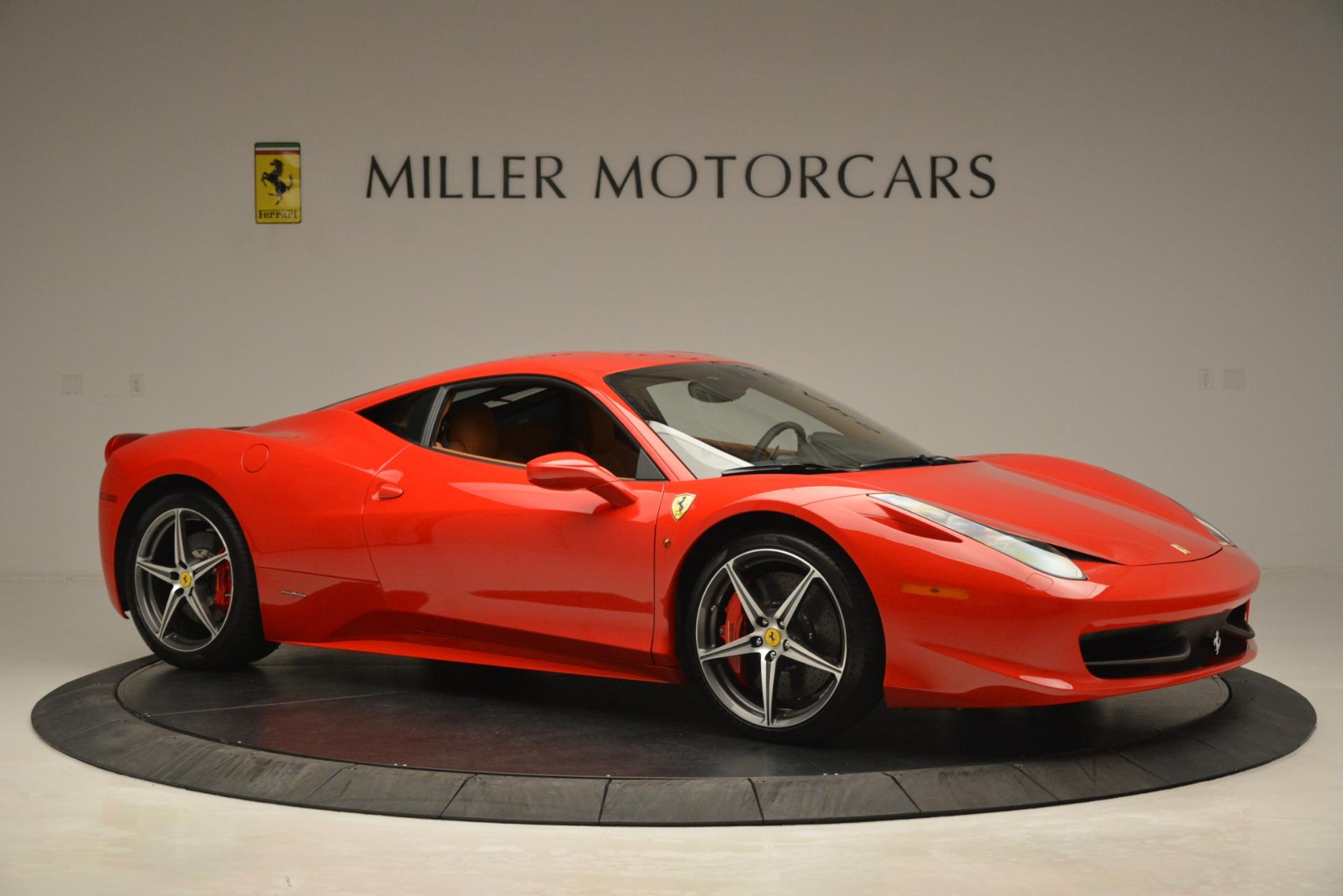 Used 2014 Ferrari 458 Italia  For Sale In Westport, CT 3271_p10