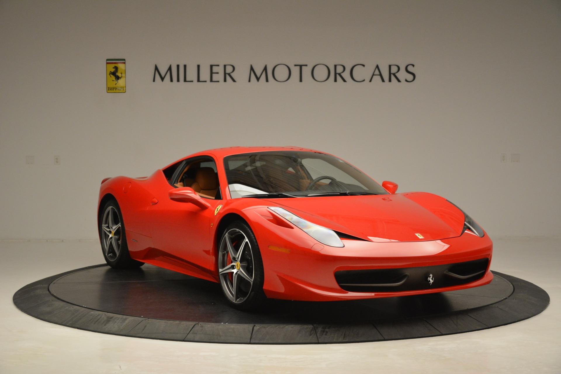Used 2014 Ferrari 458 Italia  For Sale In Westport, CT 3271_p11