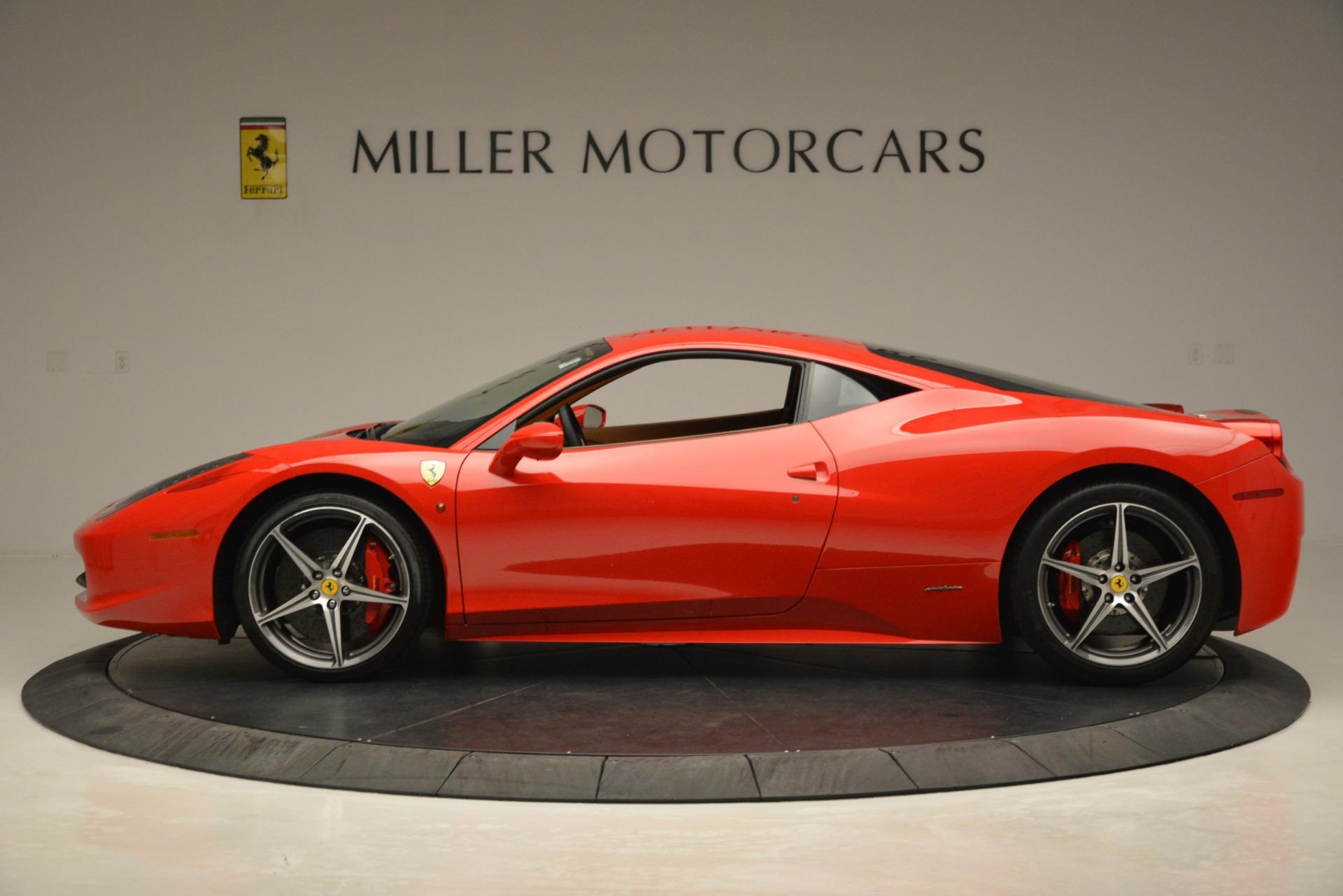 Used 2014 Ferrari 458 Italia  For Sale In Westport, CT 3271_p3
