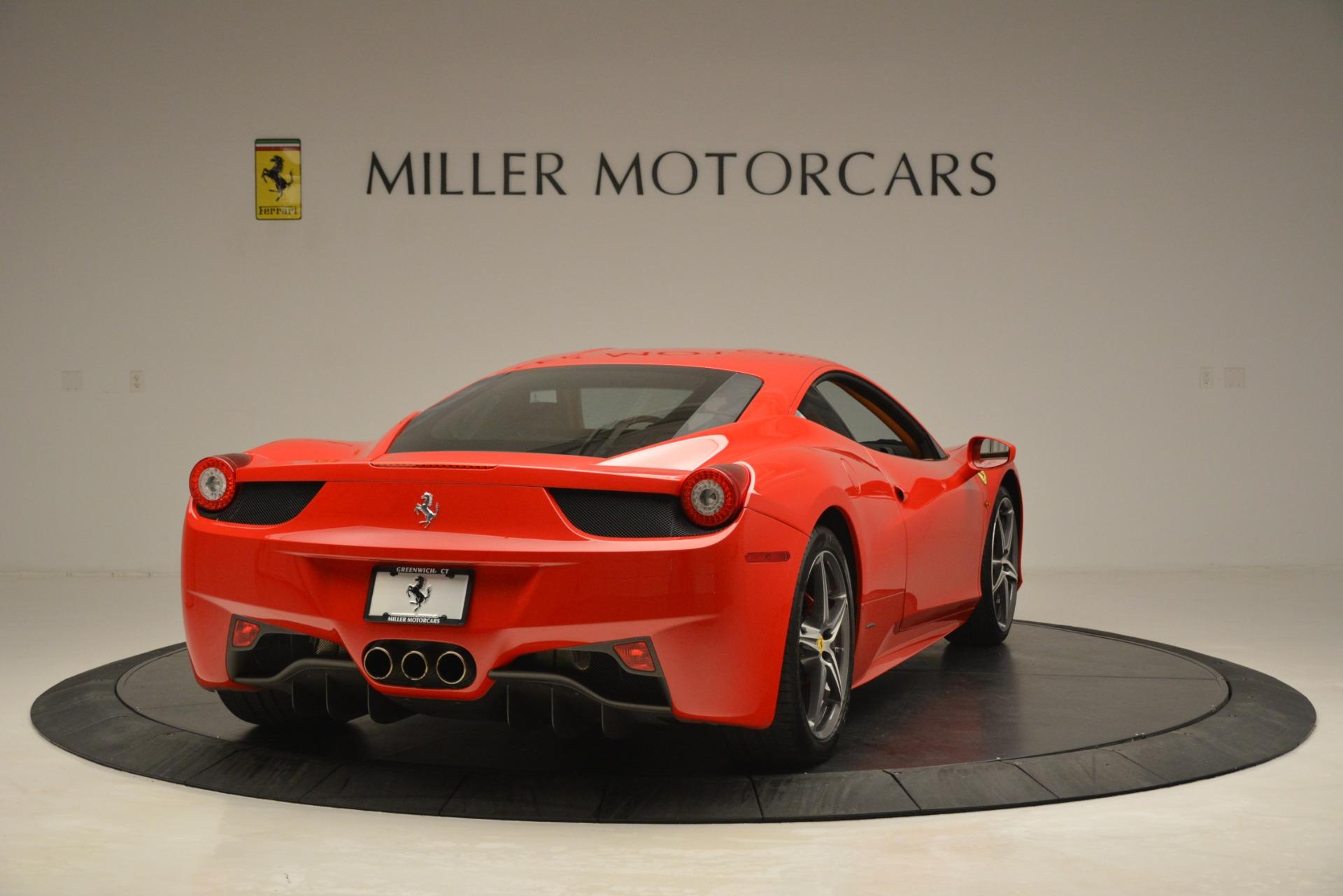 Used 2014 Ferrari 458 Italia  For Sale In Westport, CT 3271_p7
