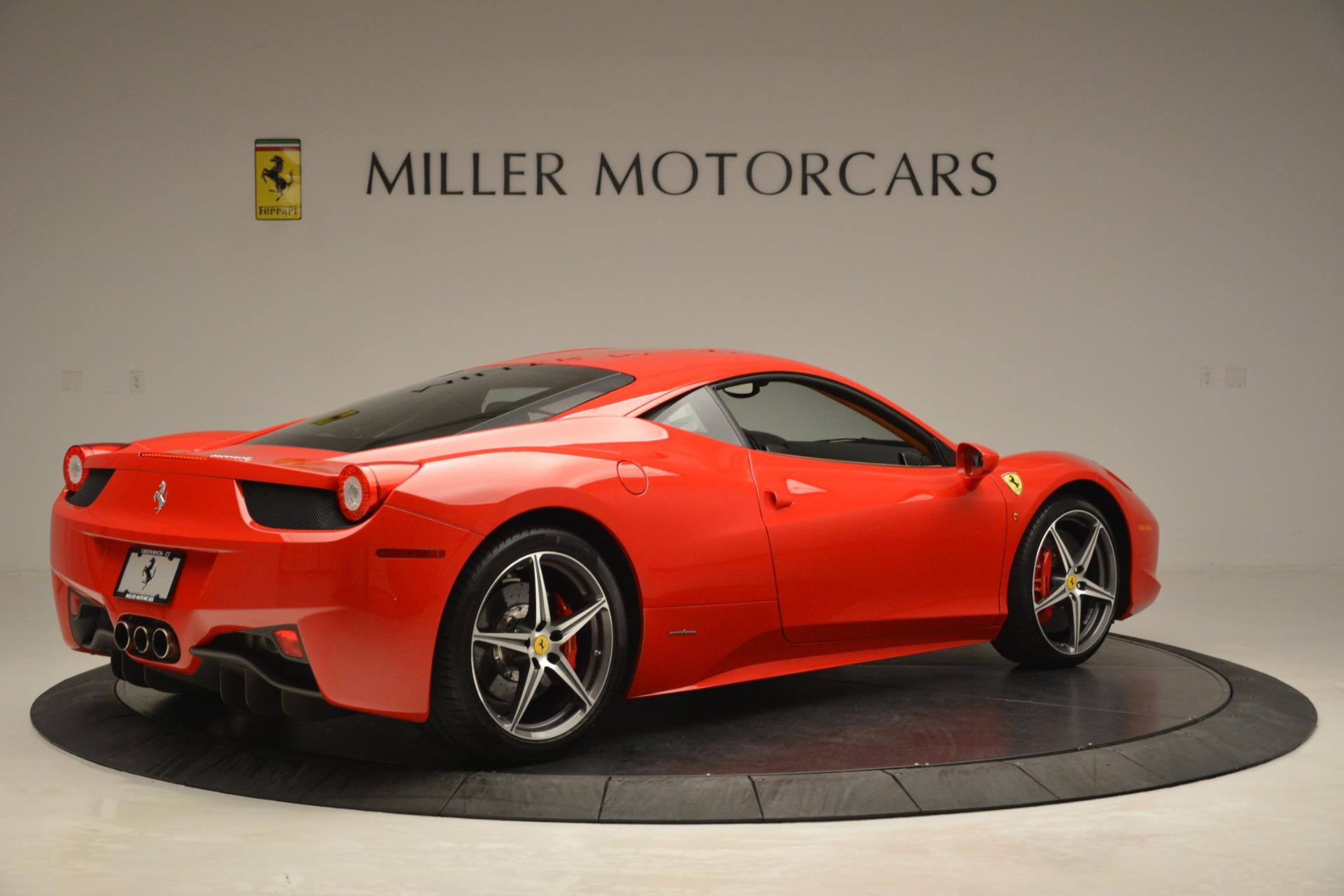 Used 2014 Ferrari 458 Italia  For Sale In Westport, CT 3271_p8