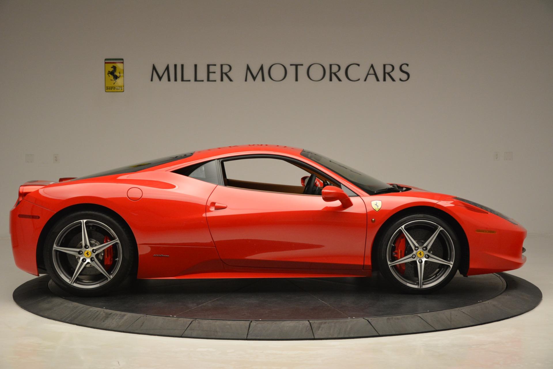 Used 2014 Ferrari 458 Italia  For Sale In Westport, CT 3271_p9