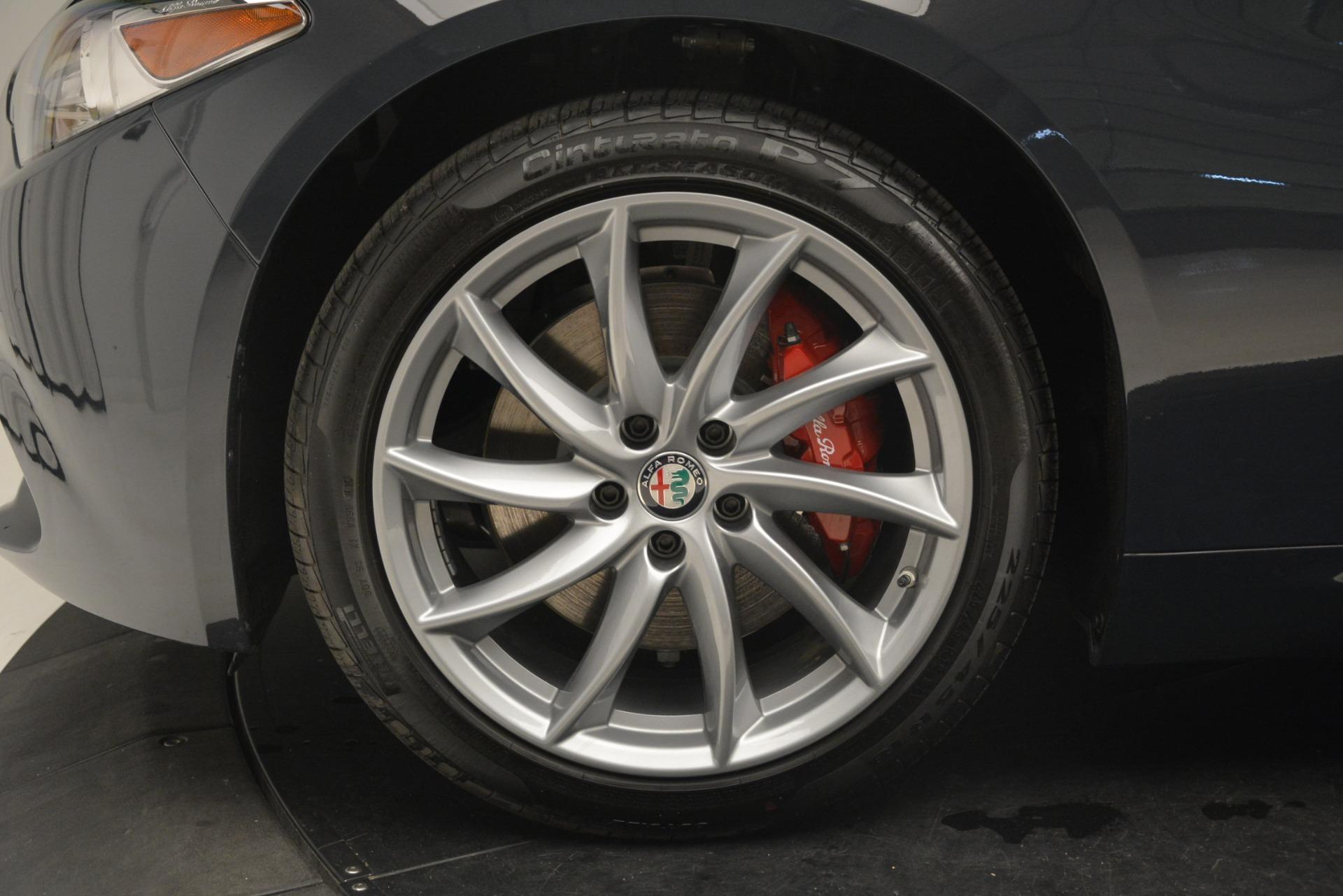 New 2019 Alfa Romeo Giulia Q4 For Sale In Westport, CT 3274_p30