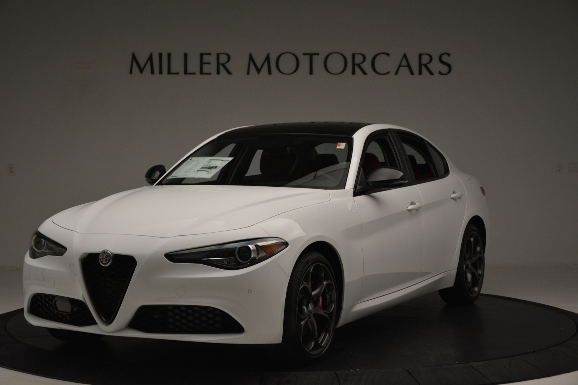 New 2019 Alfa Romeo Giulia Q4 For Sale In Westport, CT 3279_main