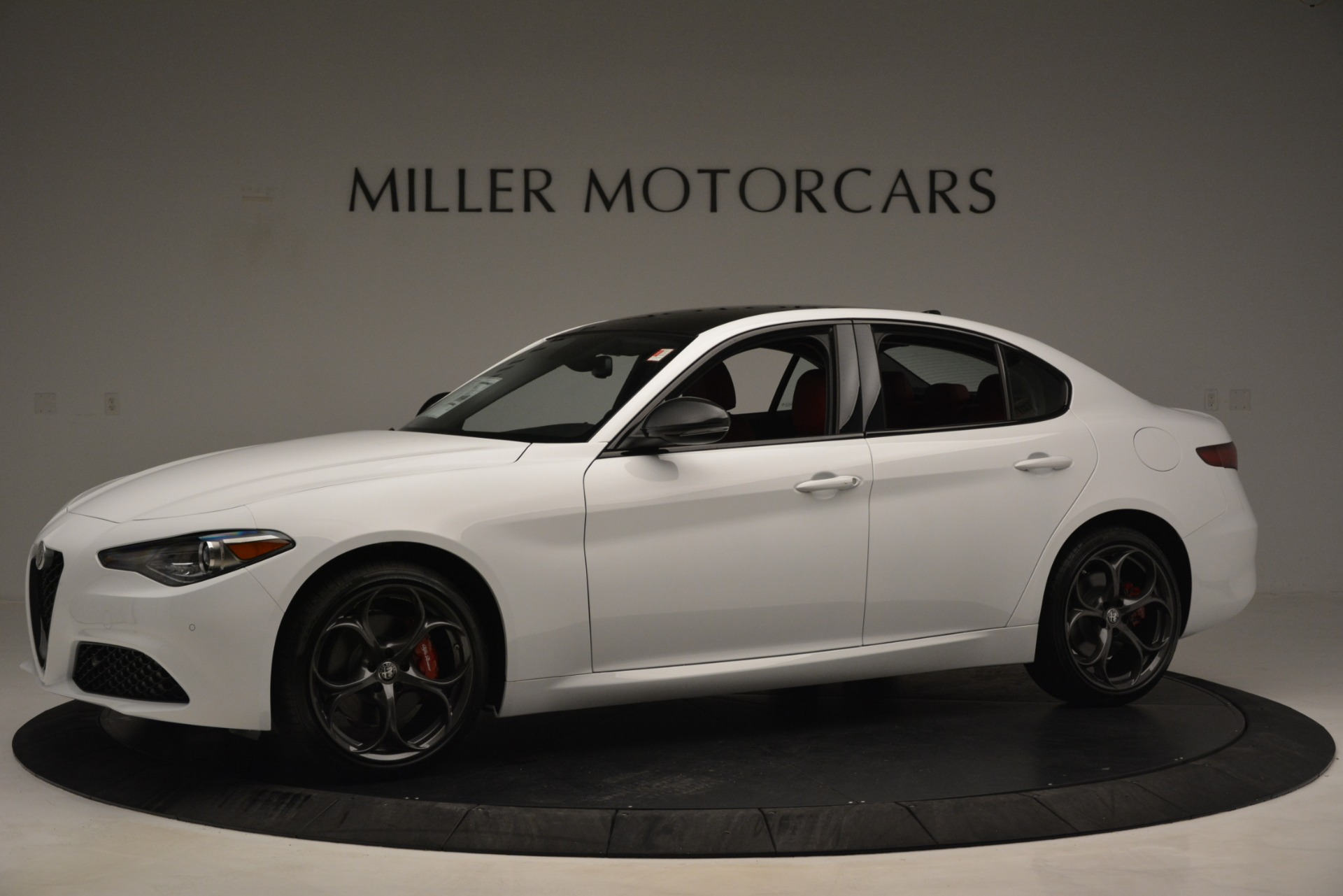 New 2019 Alfa Romeo Giulia Q4 For Sale In Westport, CT 3279_p2