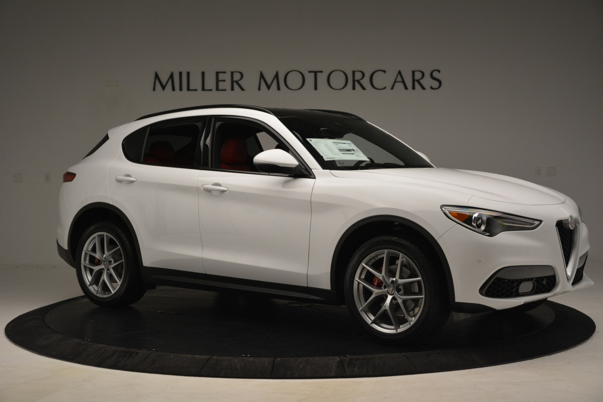 New 2019 Alfa Romeo Stelvio Ti Sport Q4 For Sale In Westport, CT 3285_p10