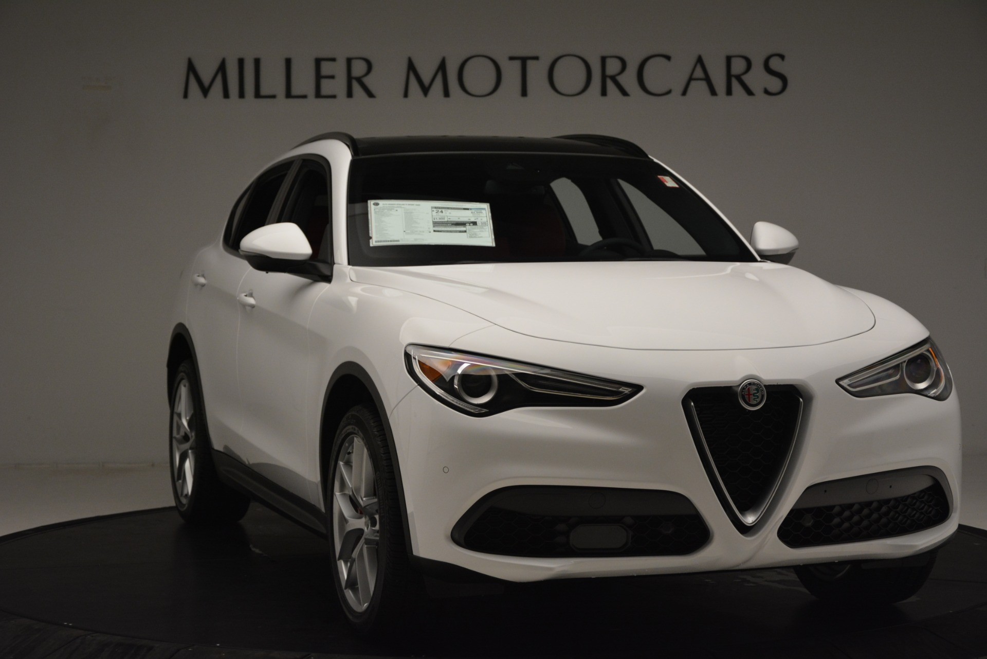 New 2019 Alfa Romeo Stelvio Ti Sport Q4 For Sale In Westport, CT 3285_p11