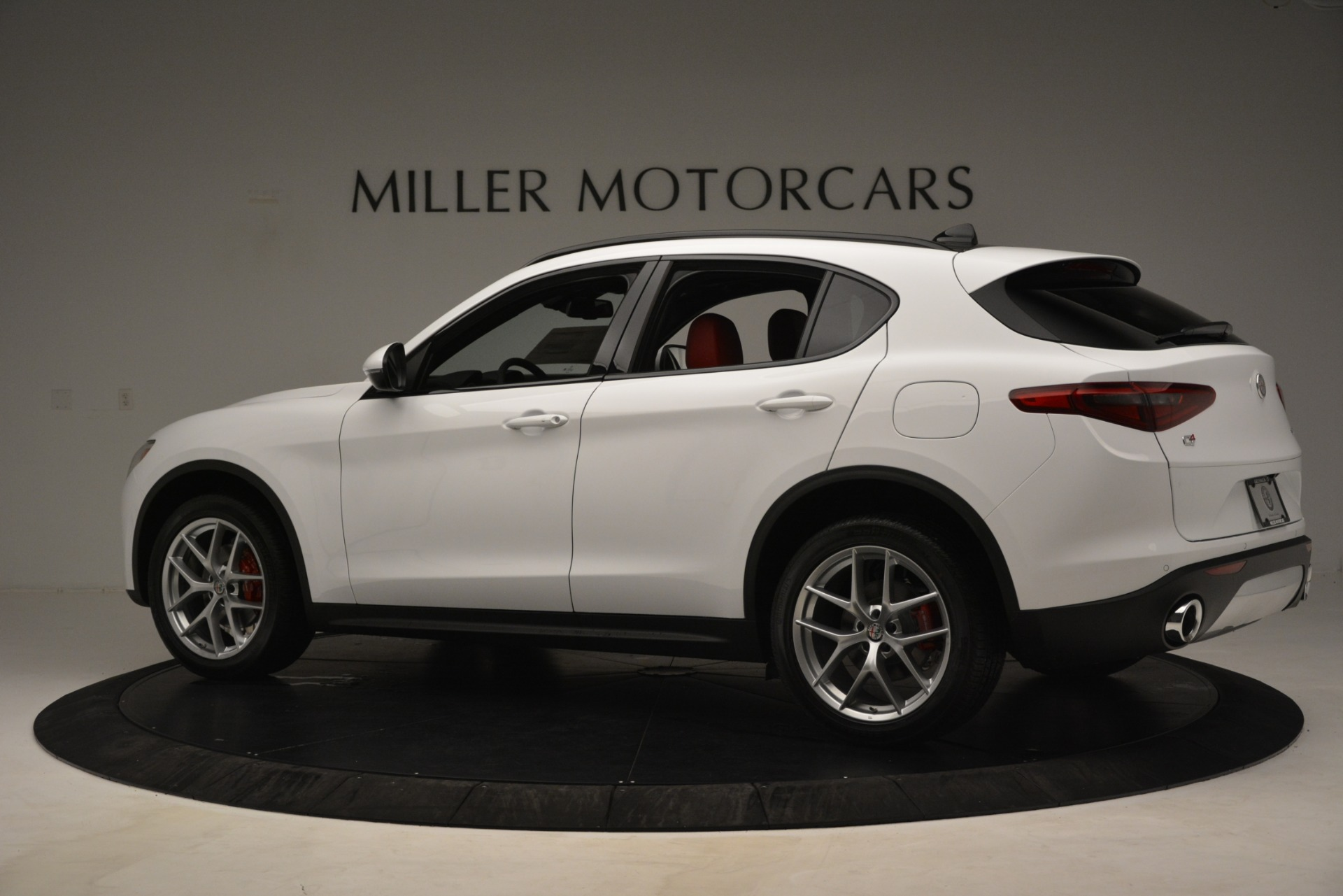 New 2019 Alfa Romeo Stelvio Ti Sport Q4 For Sale In Westport, CT 3285_p4