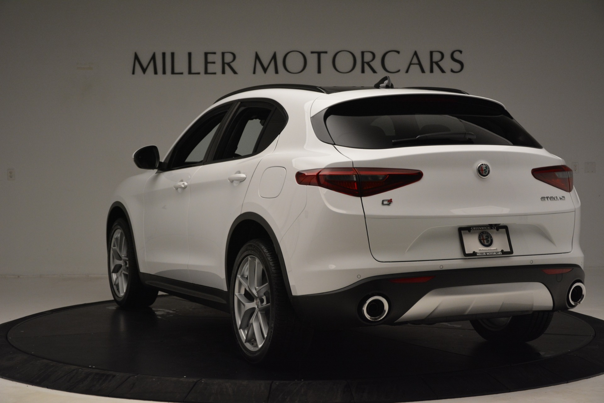 New 2019 Alfa Romeo Stelvio Ti Sport Q4 For Sale In Westport, CT 3285_p5