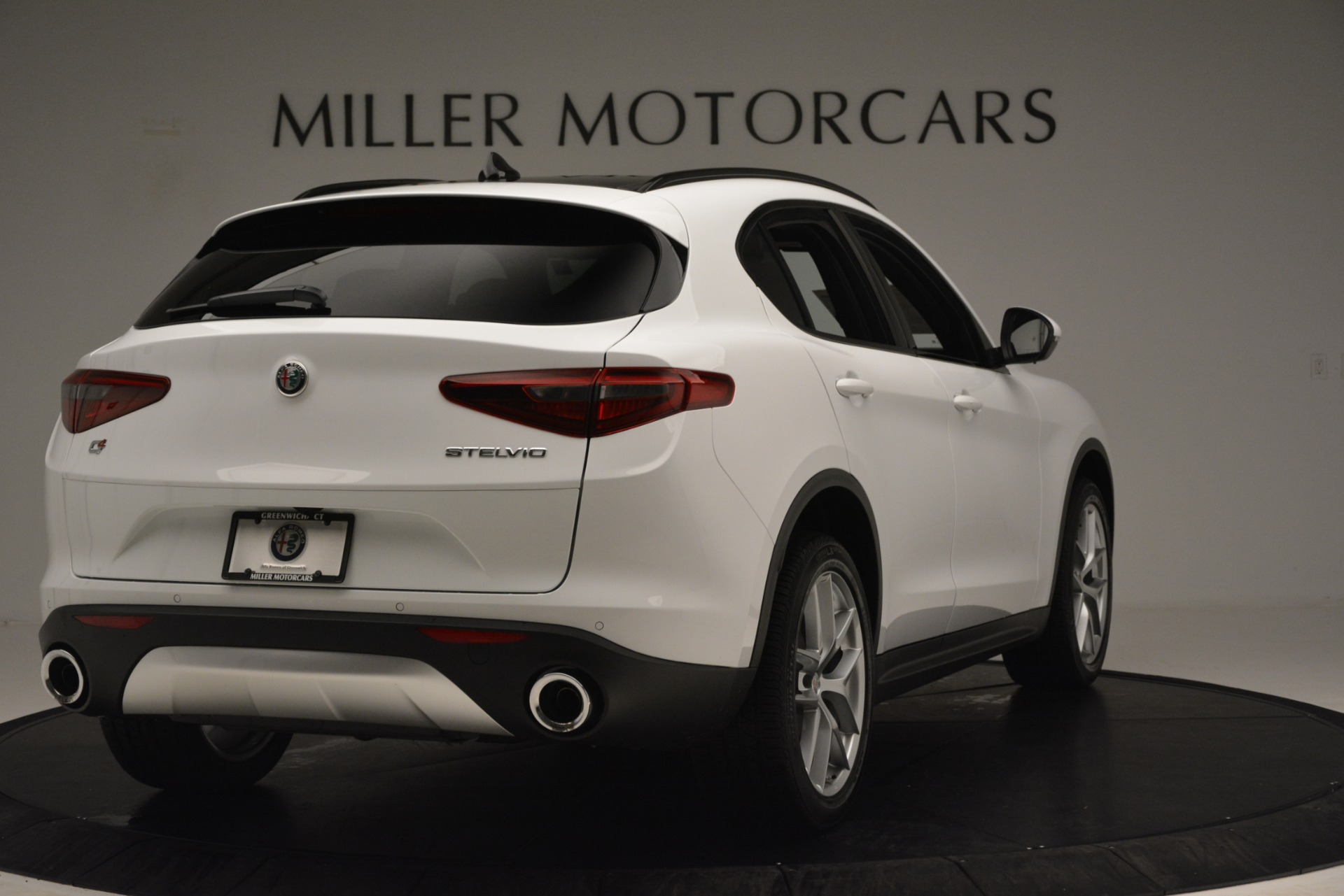 New 2019 Alfa Romeo Stelvio Ti Sport Q4 For Sale In Westport, CT 3285_p7