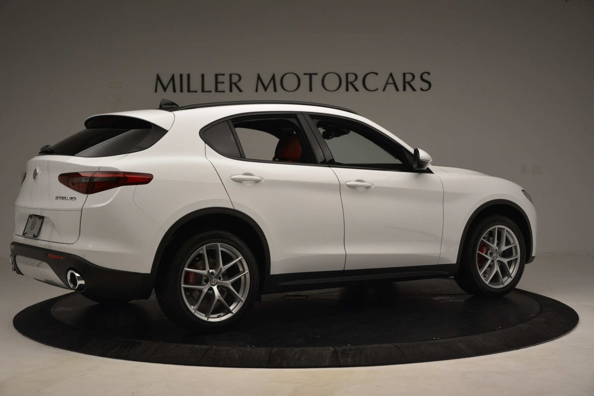 New 2019 Alfa Romeo Stelvio Ti Sport Q4 For Sale In Westport, CT 3285_p8