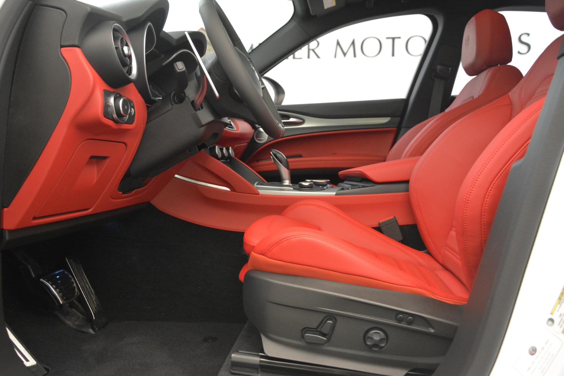New 2019 Alfa Romeo Stelvio Ti Sport Q4 For Sale In Westport, CT 3286_p14
