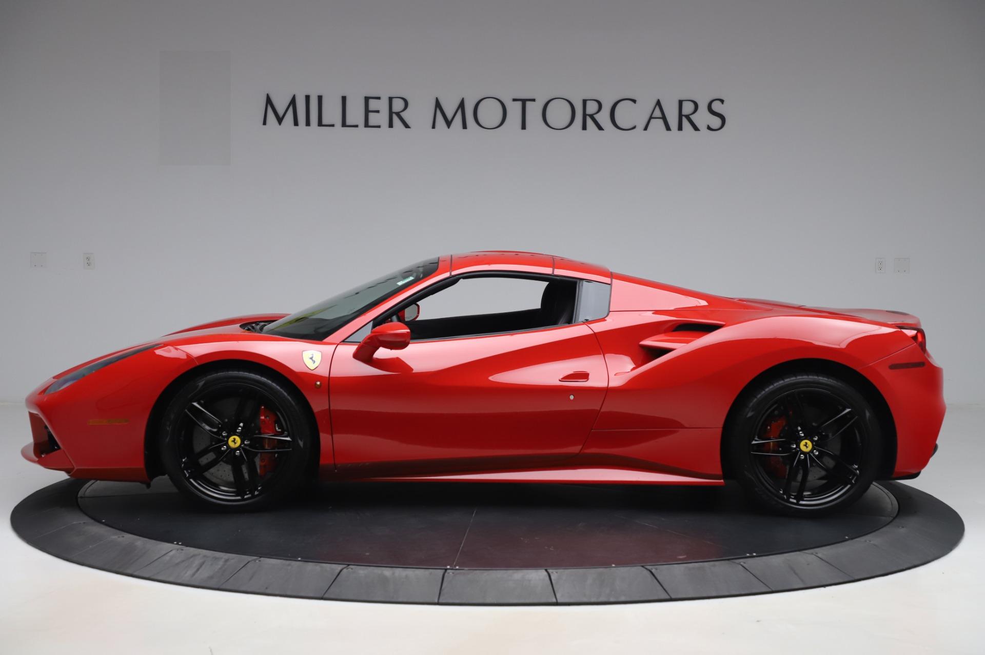Used 2017 Ferrari 488 Spider  For Sale In Westport, CT 3296_p14