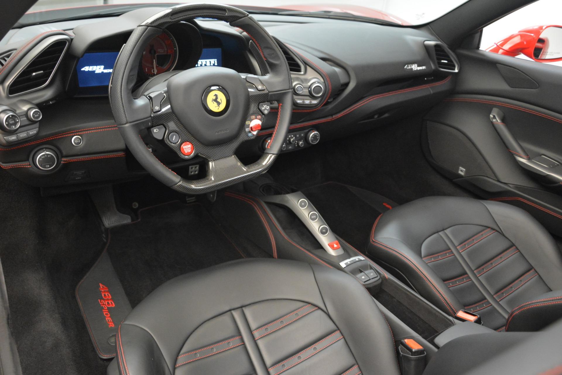 Used 2017 Ferrari 488 Spider  For Sale In Westport, CT 3296_p20