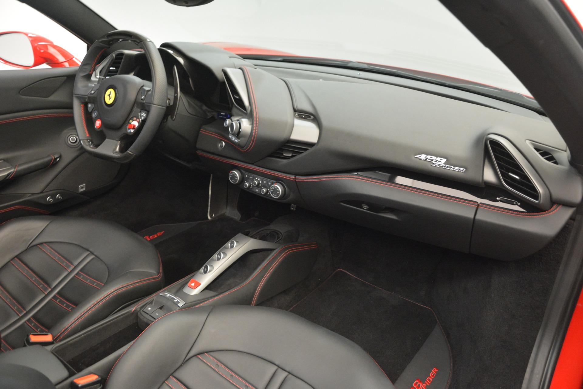 Used 2017 Ferrari 488 Spider  For Sale In Westport, CT 3296_p24