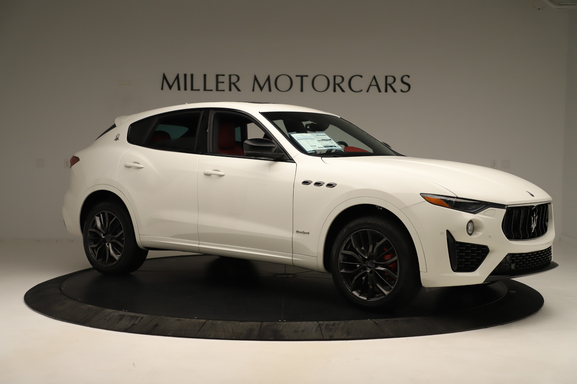New 2019 Maserati Levante Q4 GranSport Nerissimo For Sale In Westport, CT 3300_p10