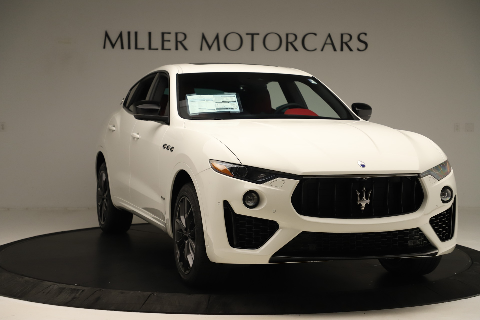 New 2019 Maserati Levante Q4 GranSport Nerissimo For Sale In Westport, CT 3300_p11