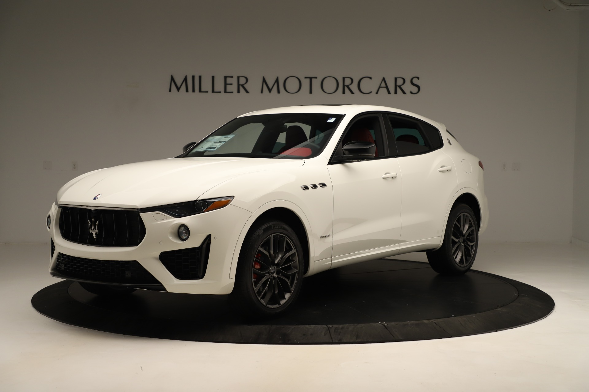 New 2019 Maserati Levante Q4 GranSport Nerissimo For Sale In Westport, CT 3300_p2